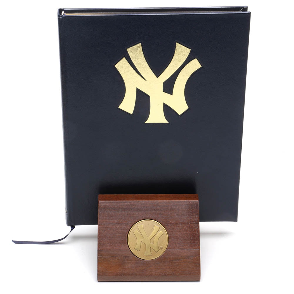"""1995 """"The Yankees: An Authorized History"""" by Phil Pepe Autographed by Players"""