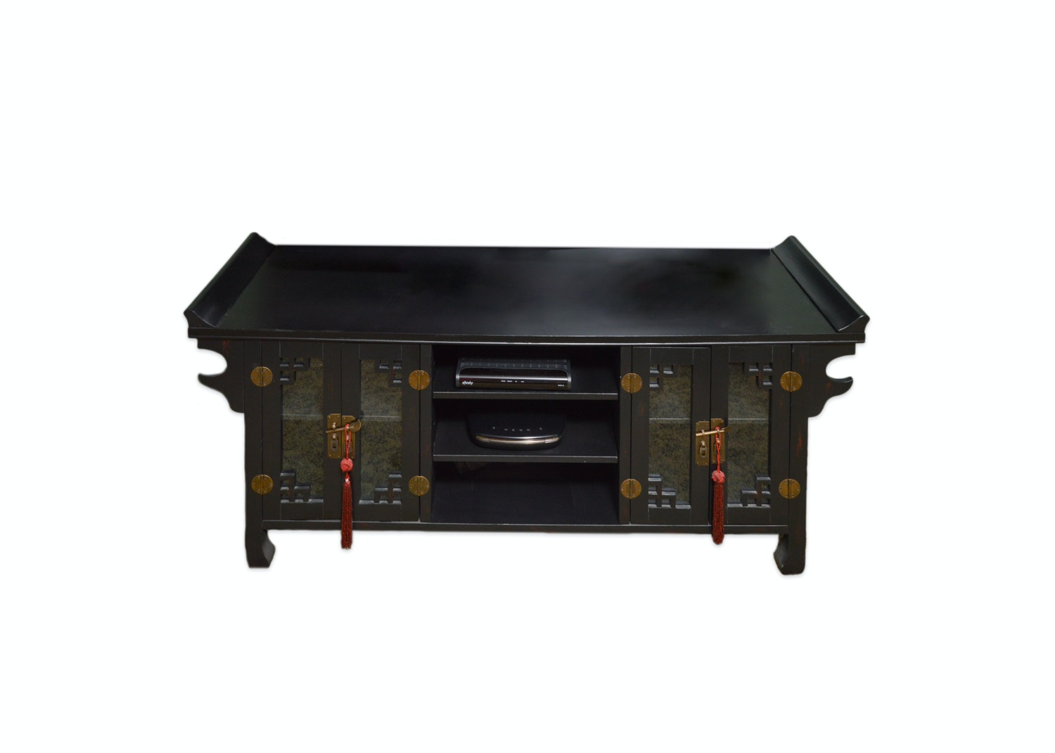 Chinese Inspired Entertainment Console
