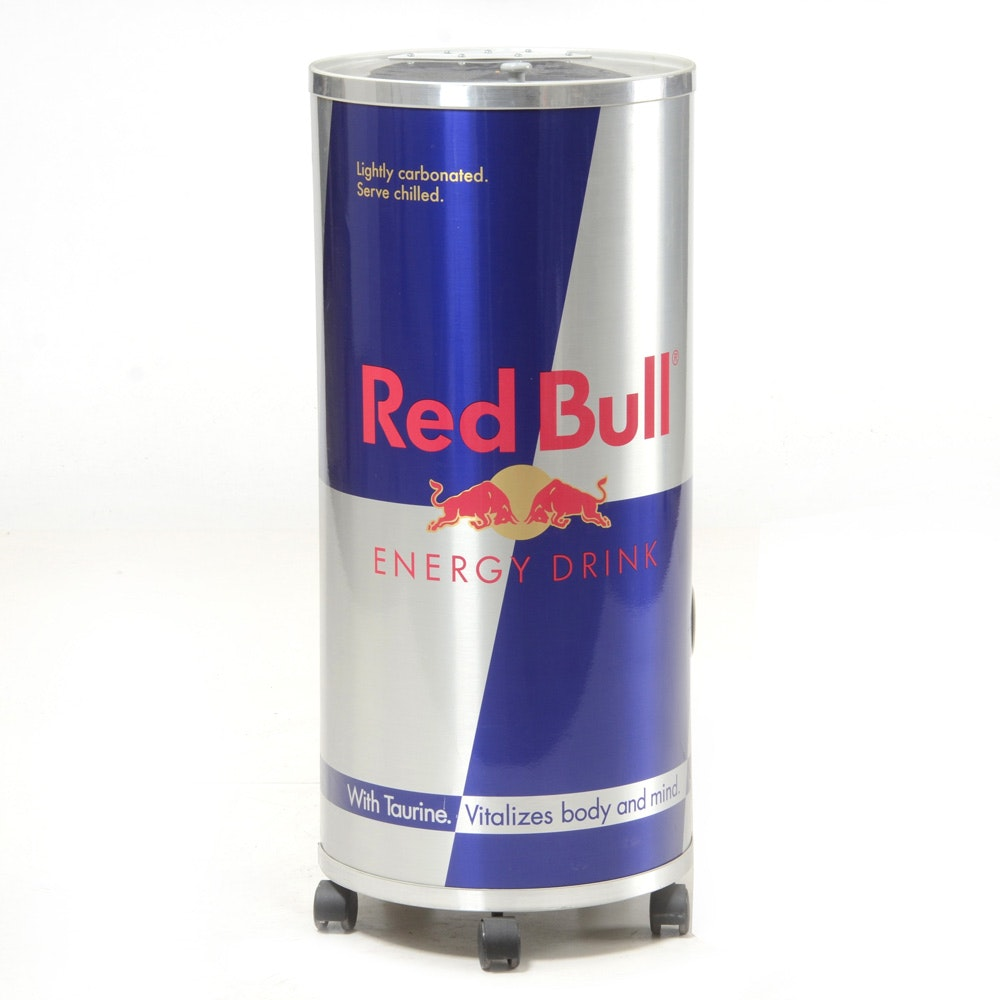 Red Bull Promotional Cooler