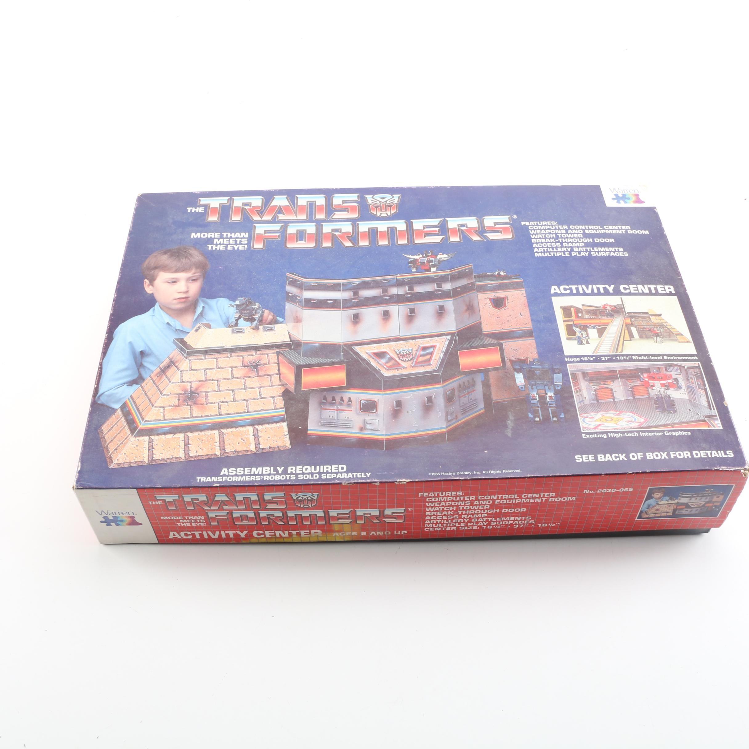 "1985 First Generation ""Transformers"" Activity Center by Warren"