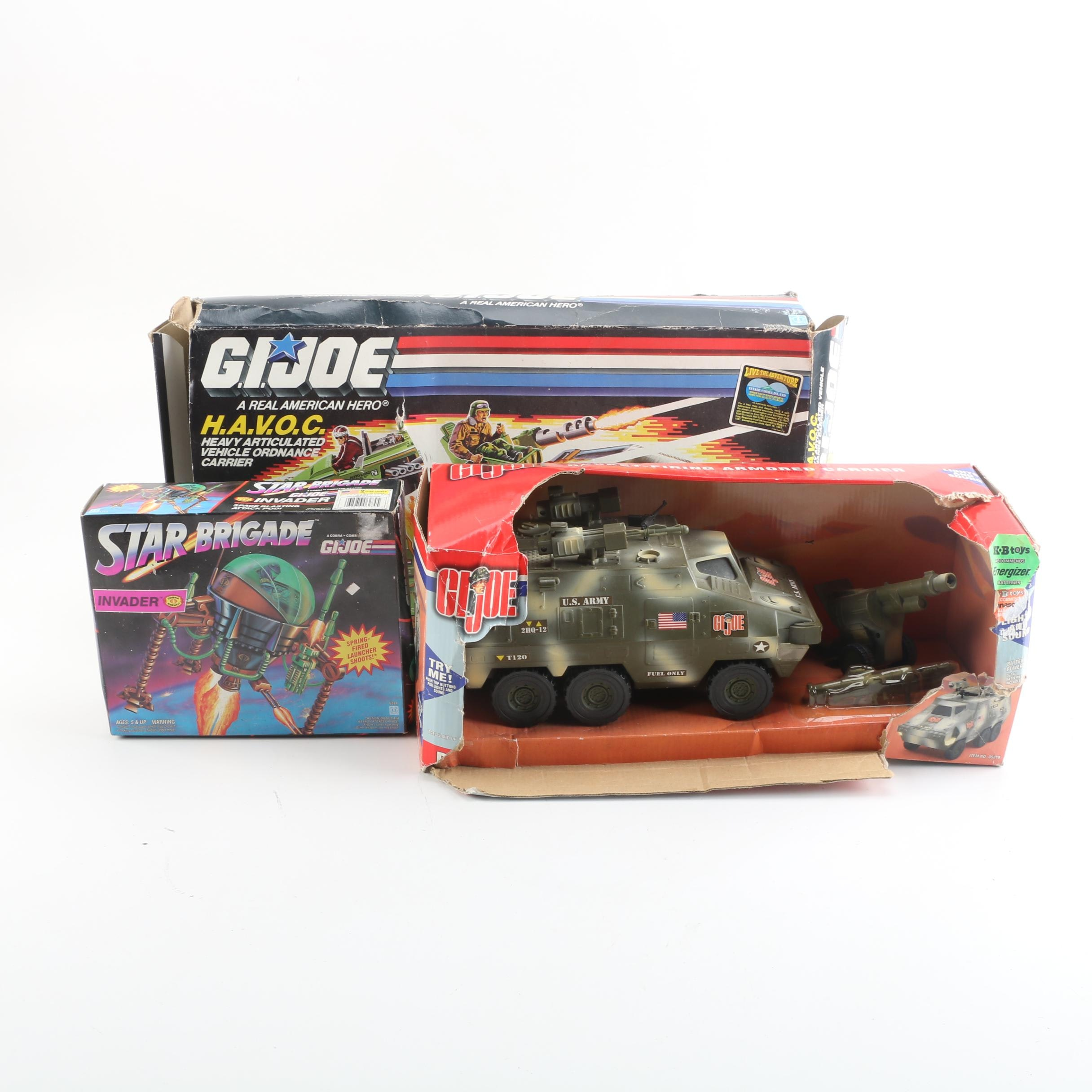 GI Joe Vehicles Including H.A.V.O.C.