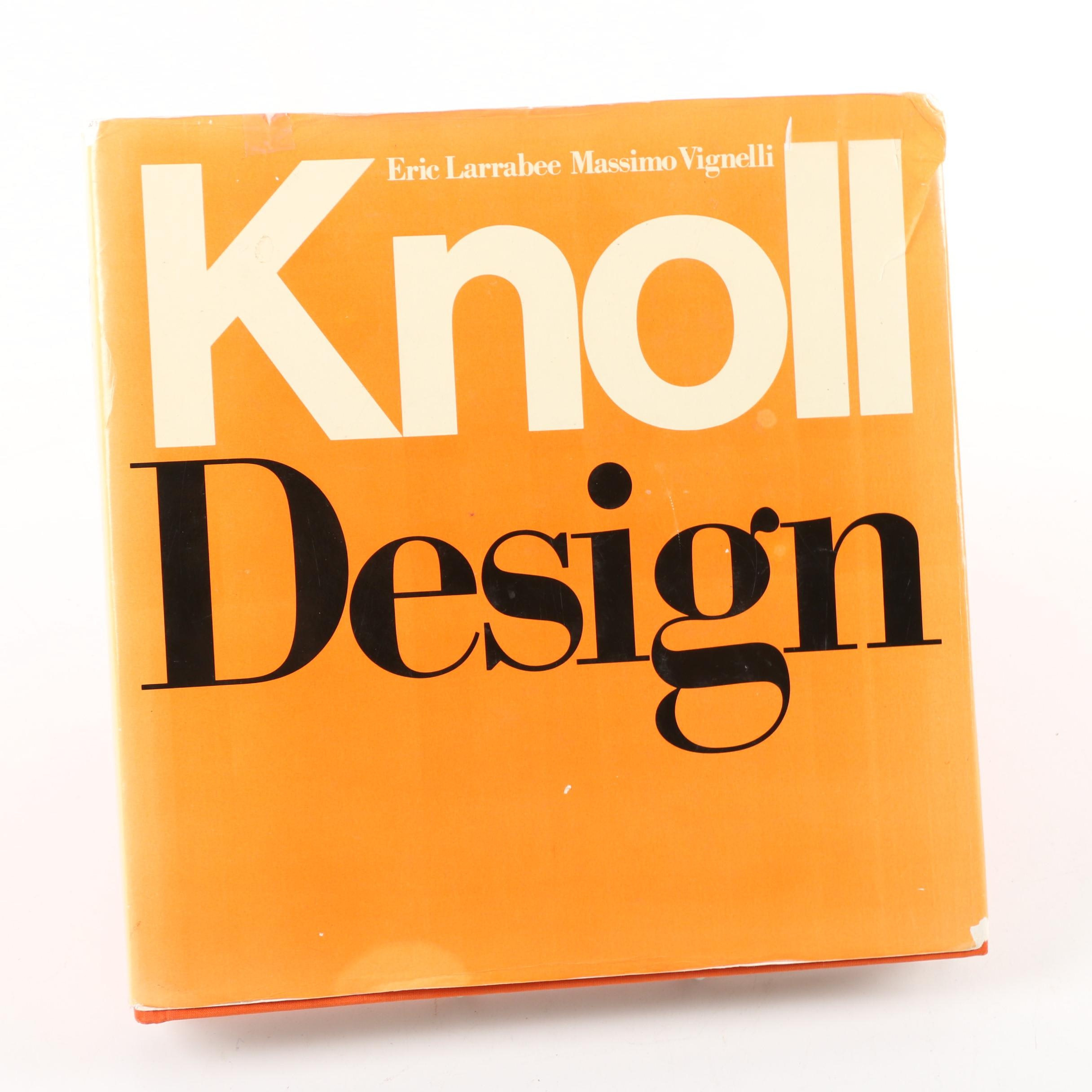 """1990 """"Knoll Design"""" by Eric Larrabee and Messimo Vignelli"""