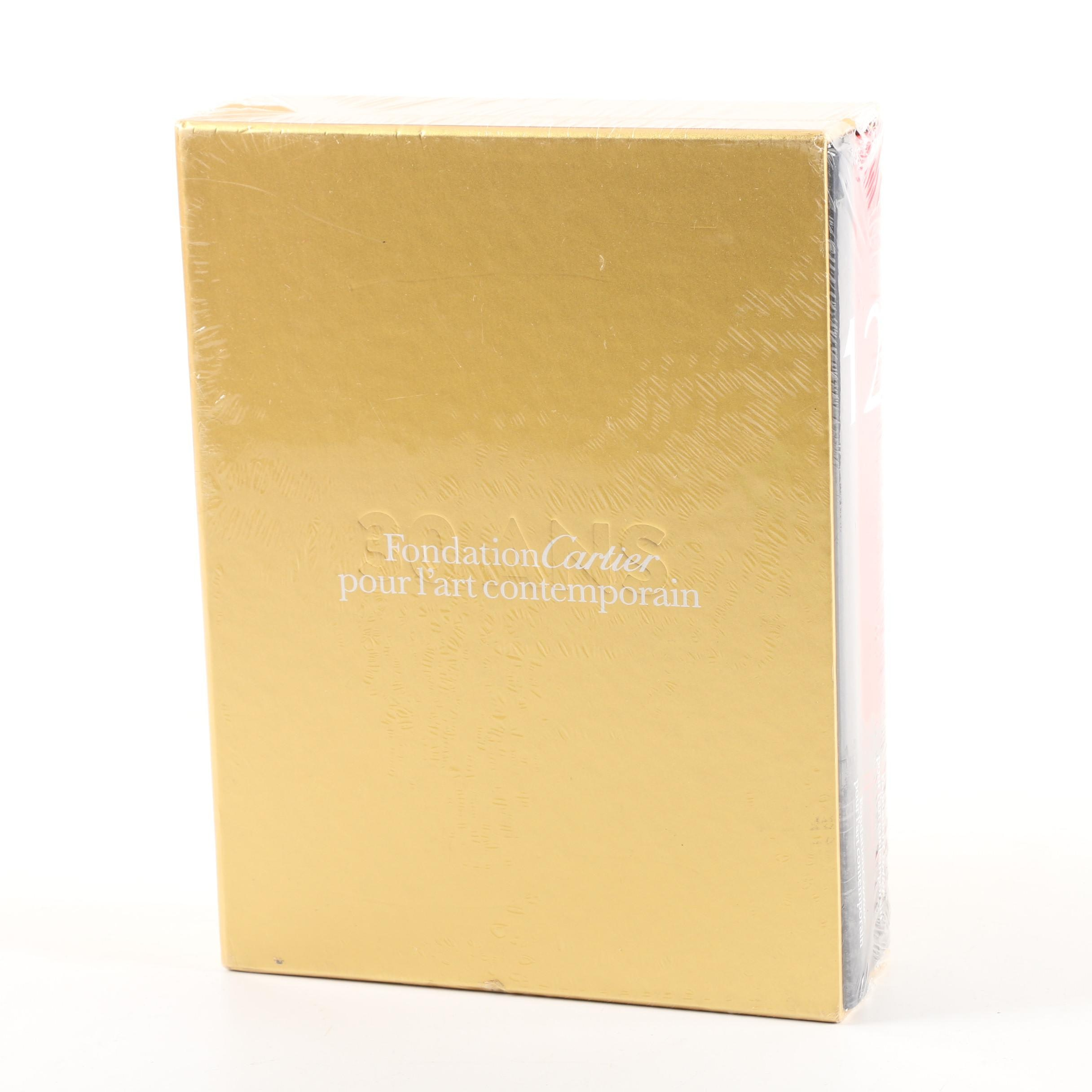 """2014 """"Fondation Cartier: Thirty Years for Contemporary Art"""" Box Set"""