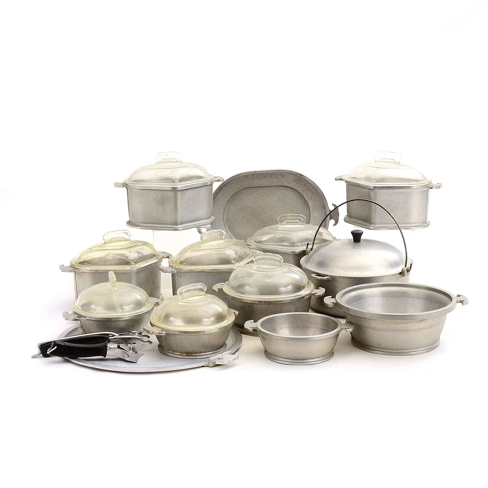 Collection of Vintage Guardian Serving Ware