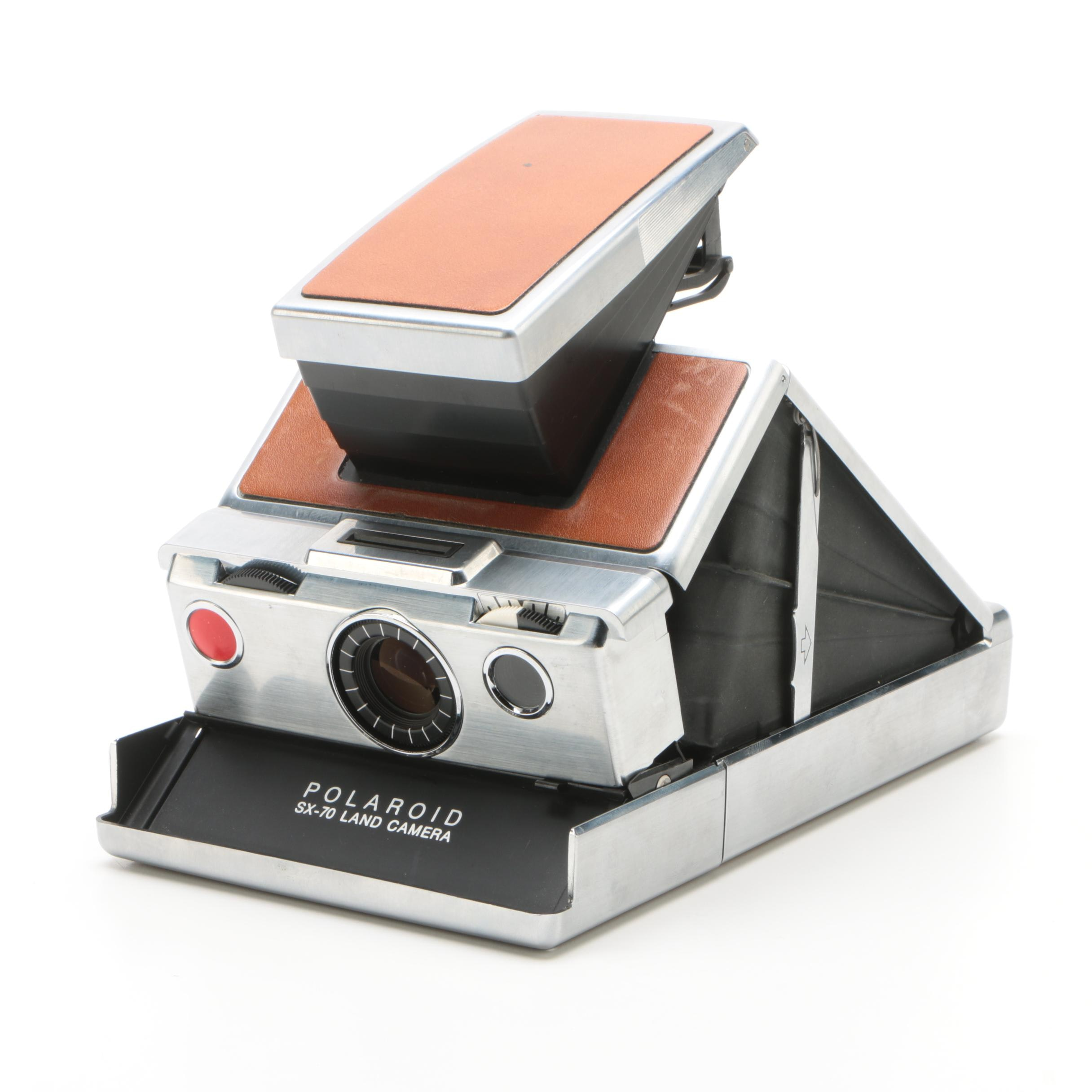 Vintage Polaroid SX-70 Folding Single-Lens Reflex Land Camera
