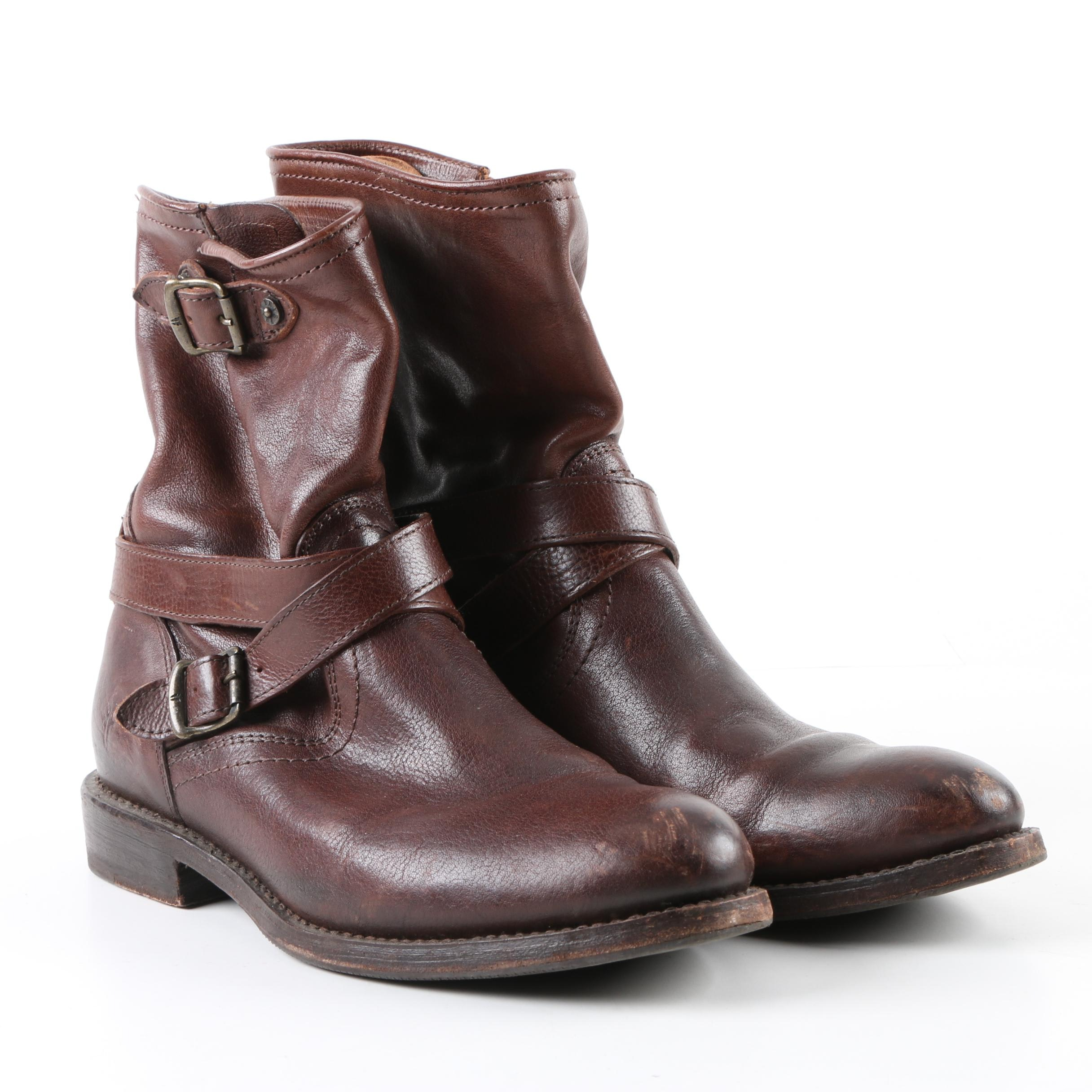 Women's Frye Brown Leather Boots