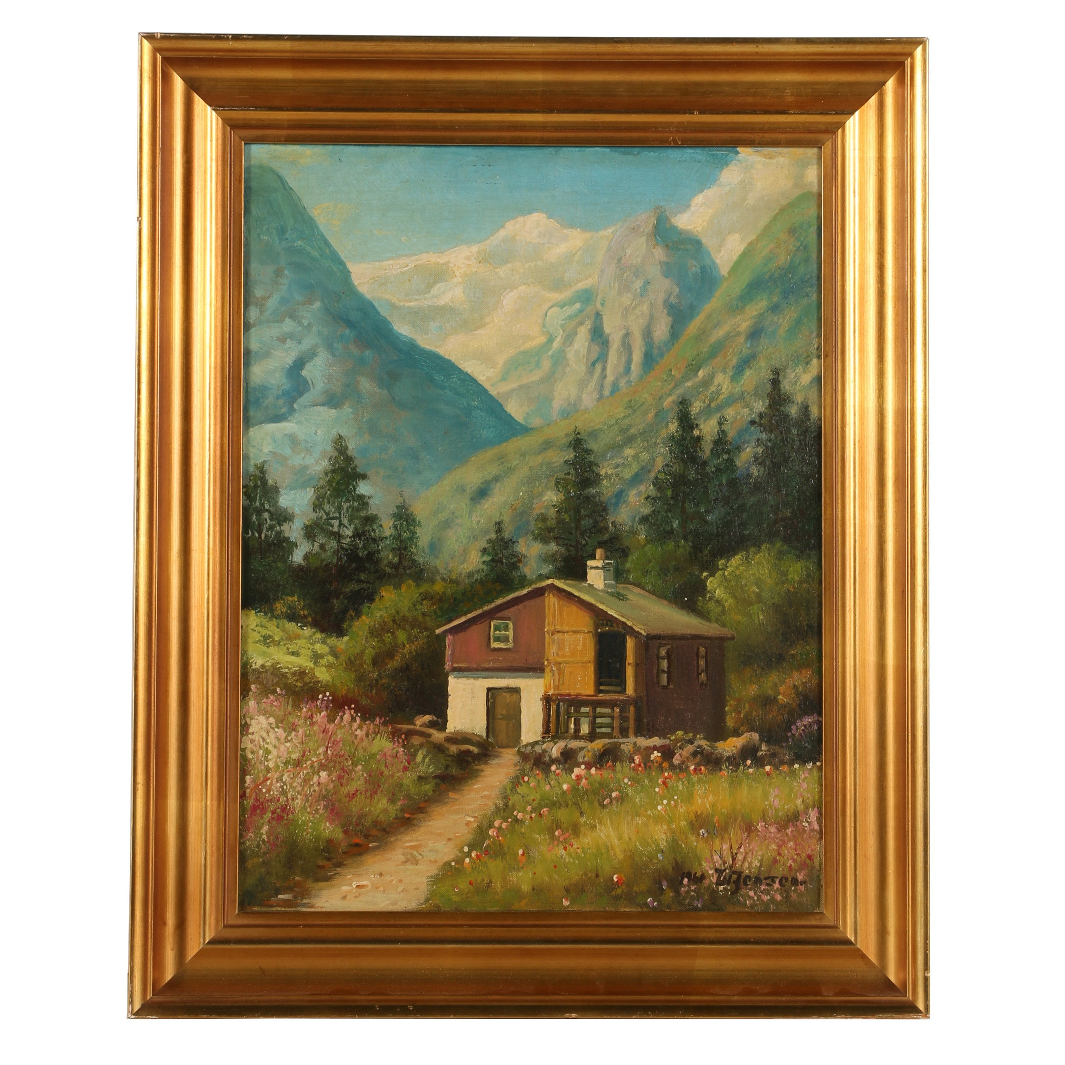 W. Jensen Oil Painting