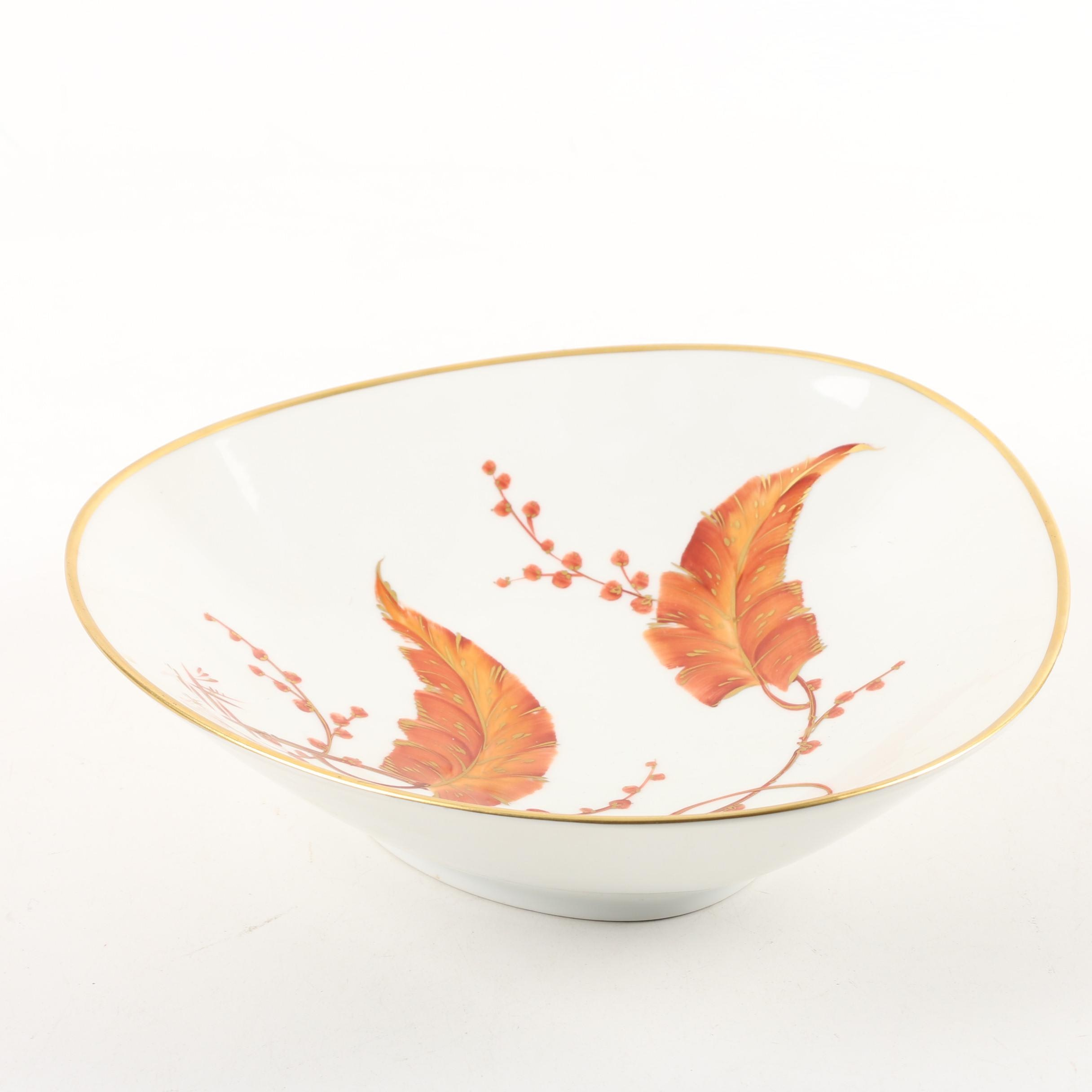 Vintage Rosenthal Hand-Painted and Gilded Porcelain Bowl