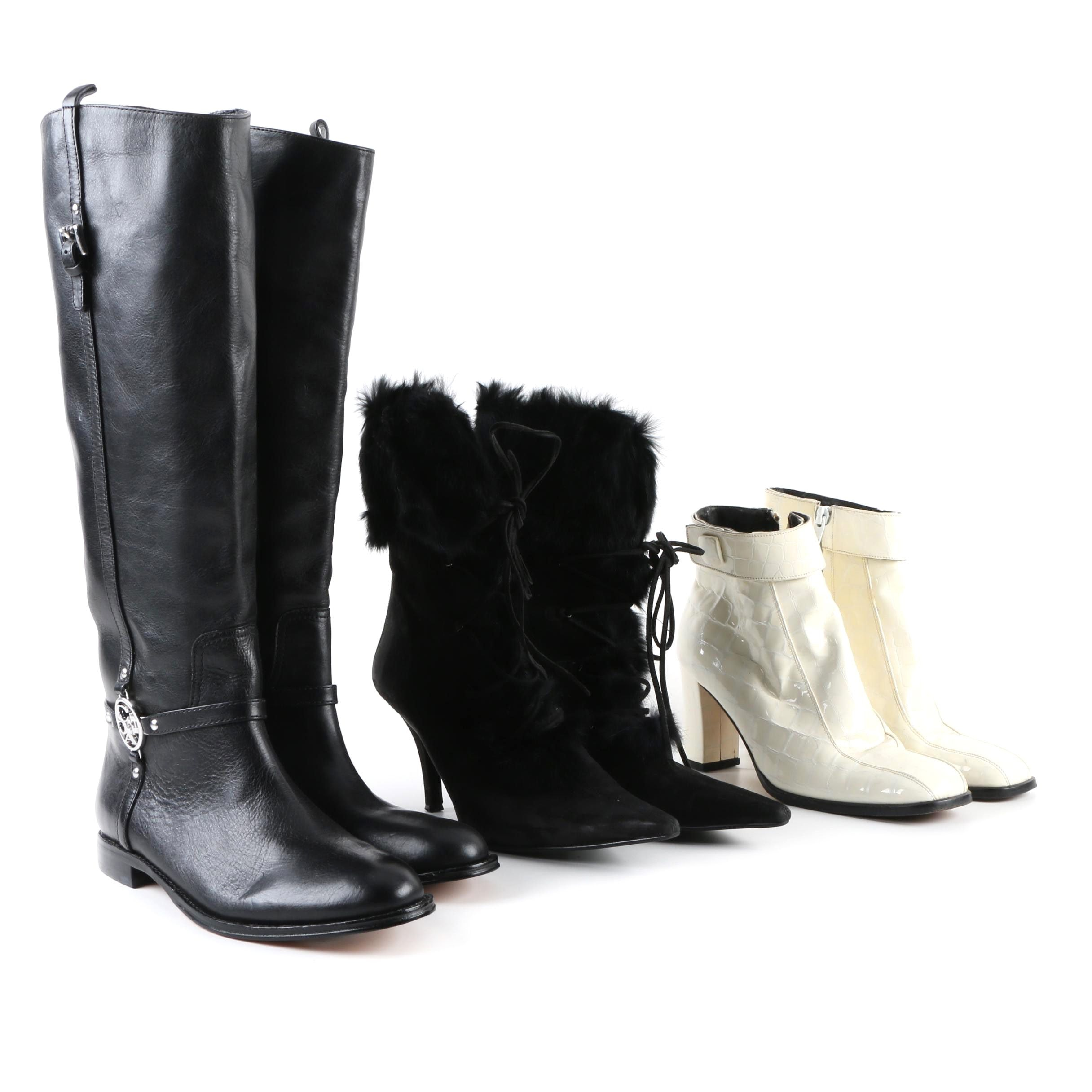 Women's Coach, Charles David and Enzo Angiolini Boots
