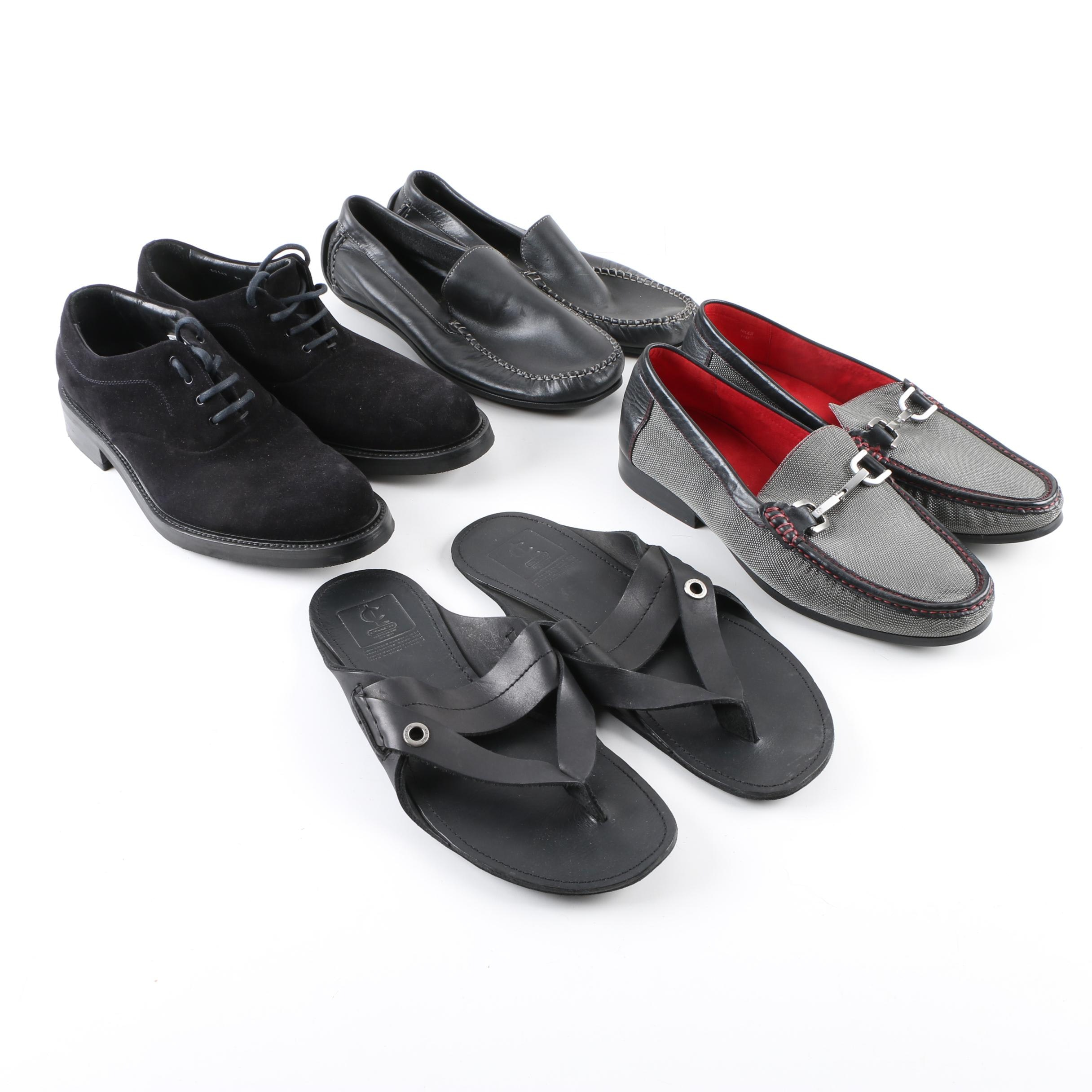 Men's Shoes and Sandals Including Coach, Donald J. Pliner and Giorgio Armani