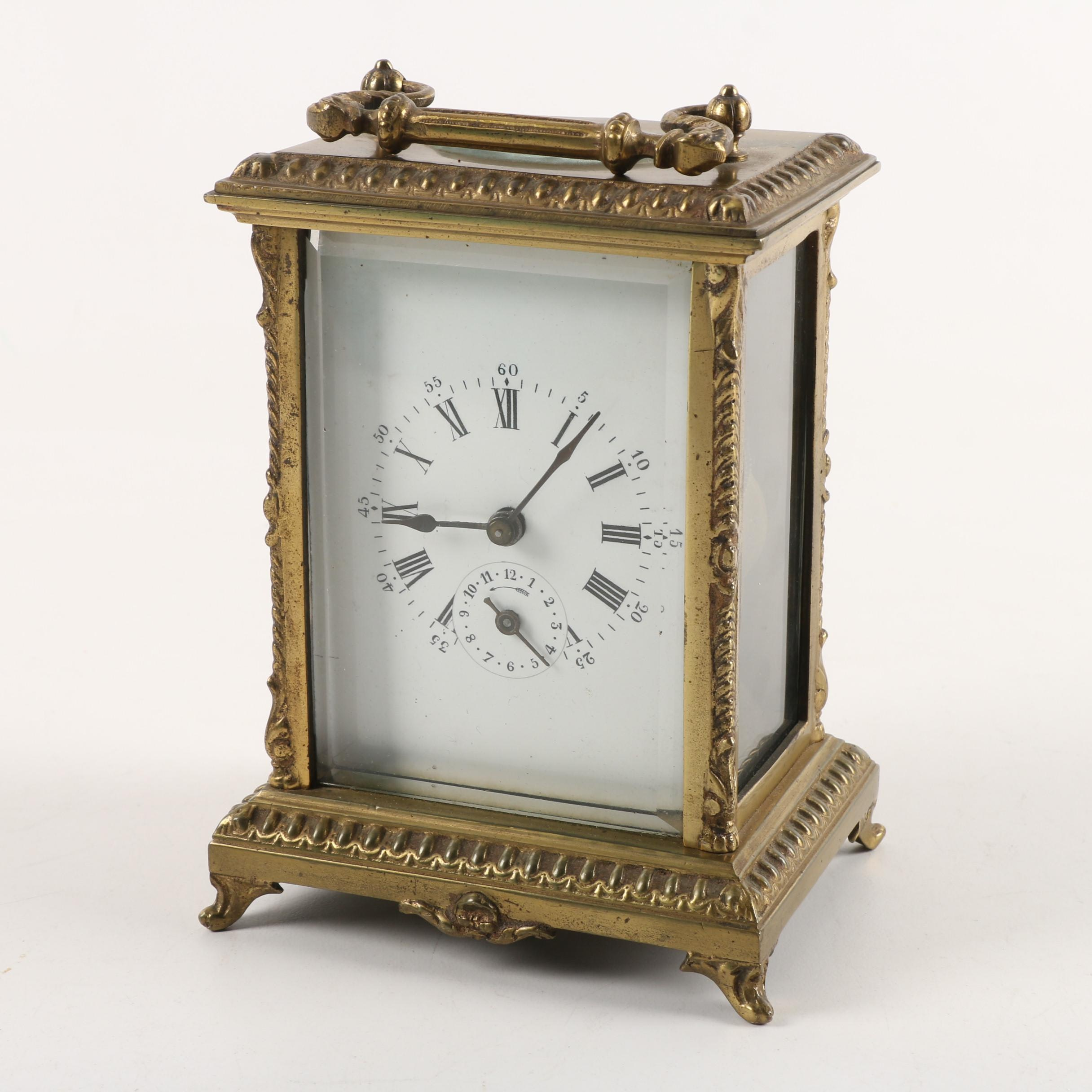 'Grand Prix De L'horlogerie 1878' Déposé Breveté French Carriage Clock