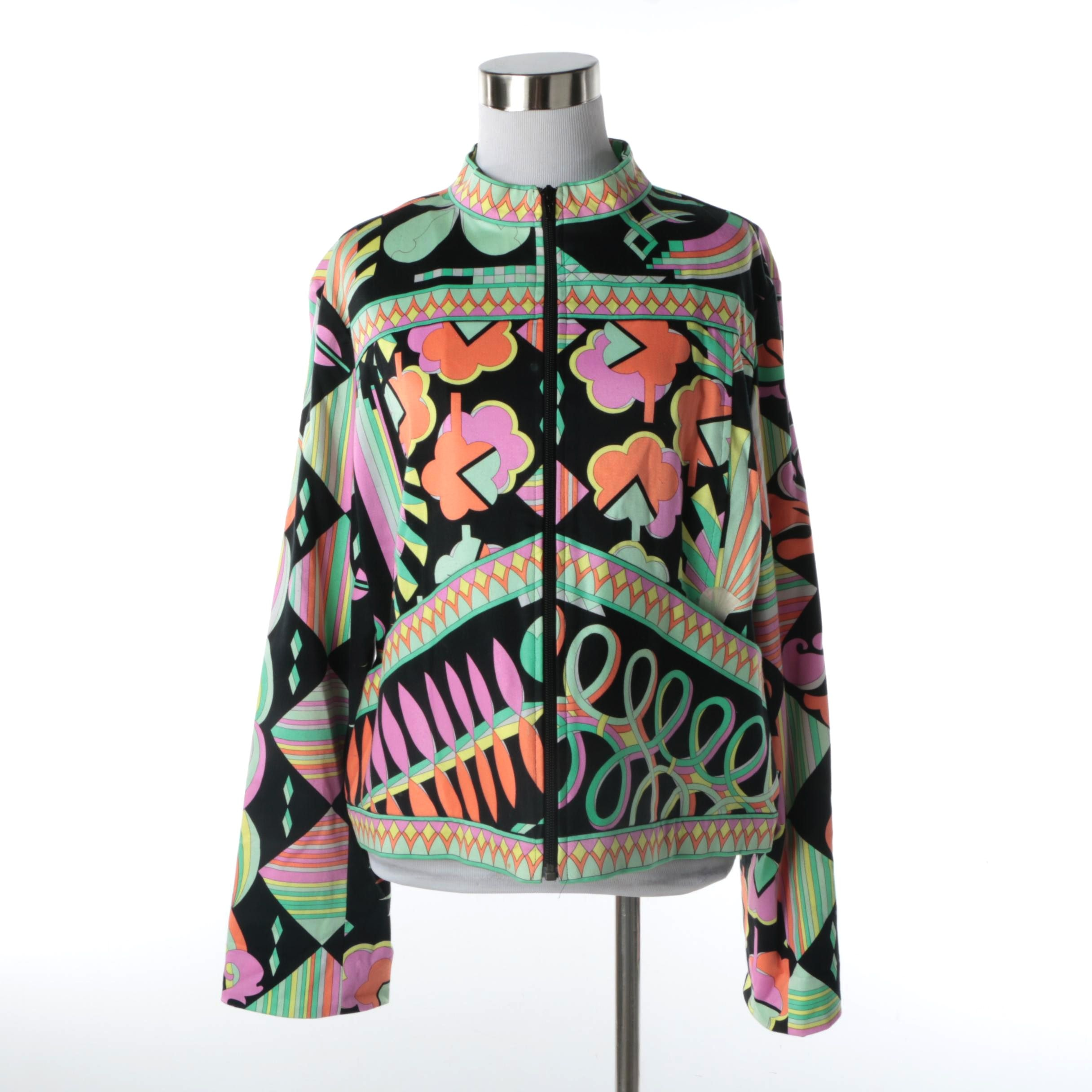 Women's Averardo Bessi Multicolored Cotton Blend Jacket