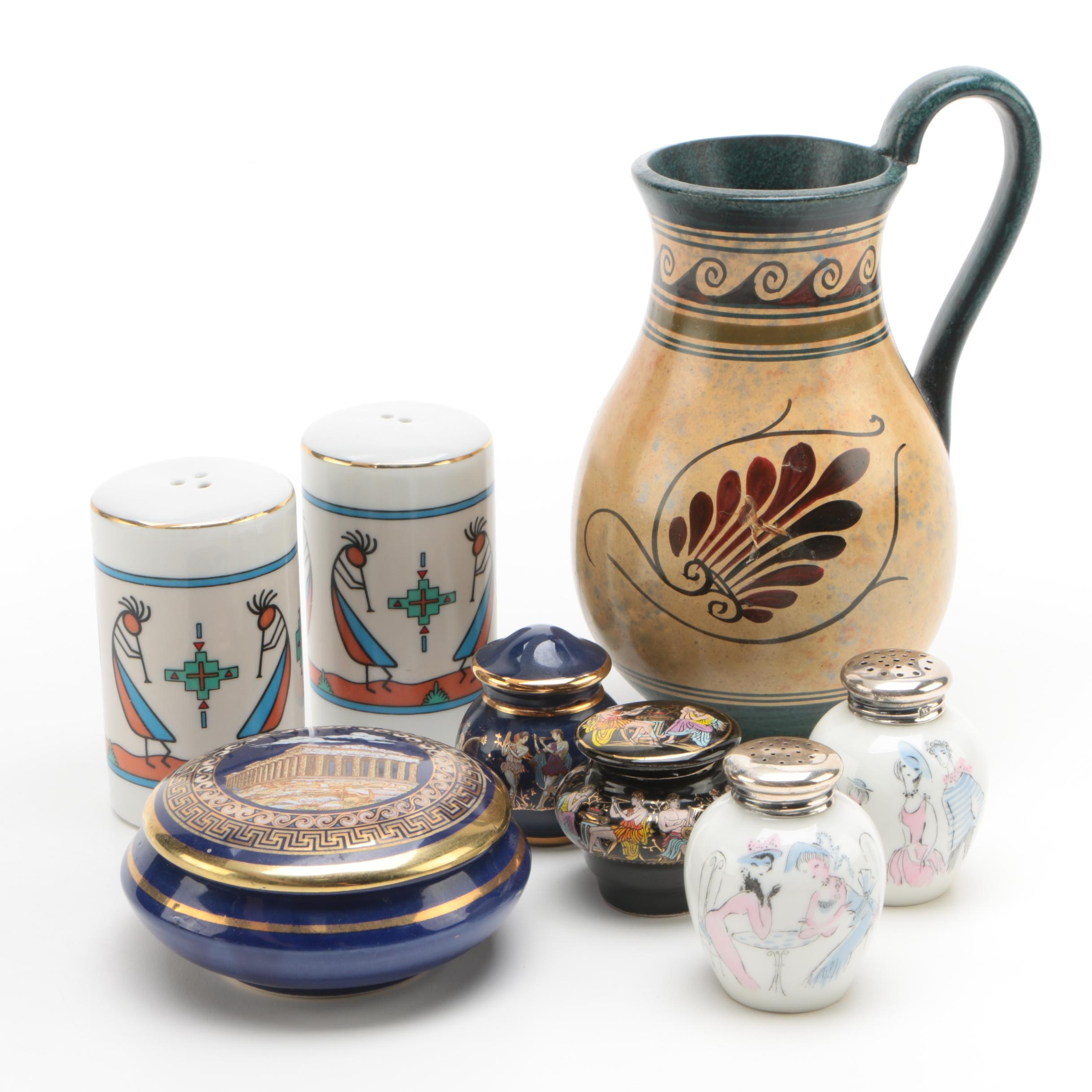 Multicultural Decor Featuring 24K Gold Accented Trinket Box and More