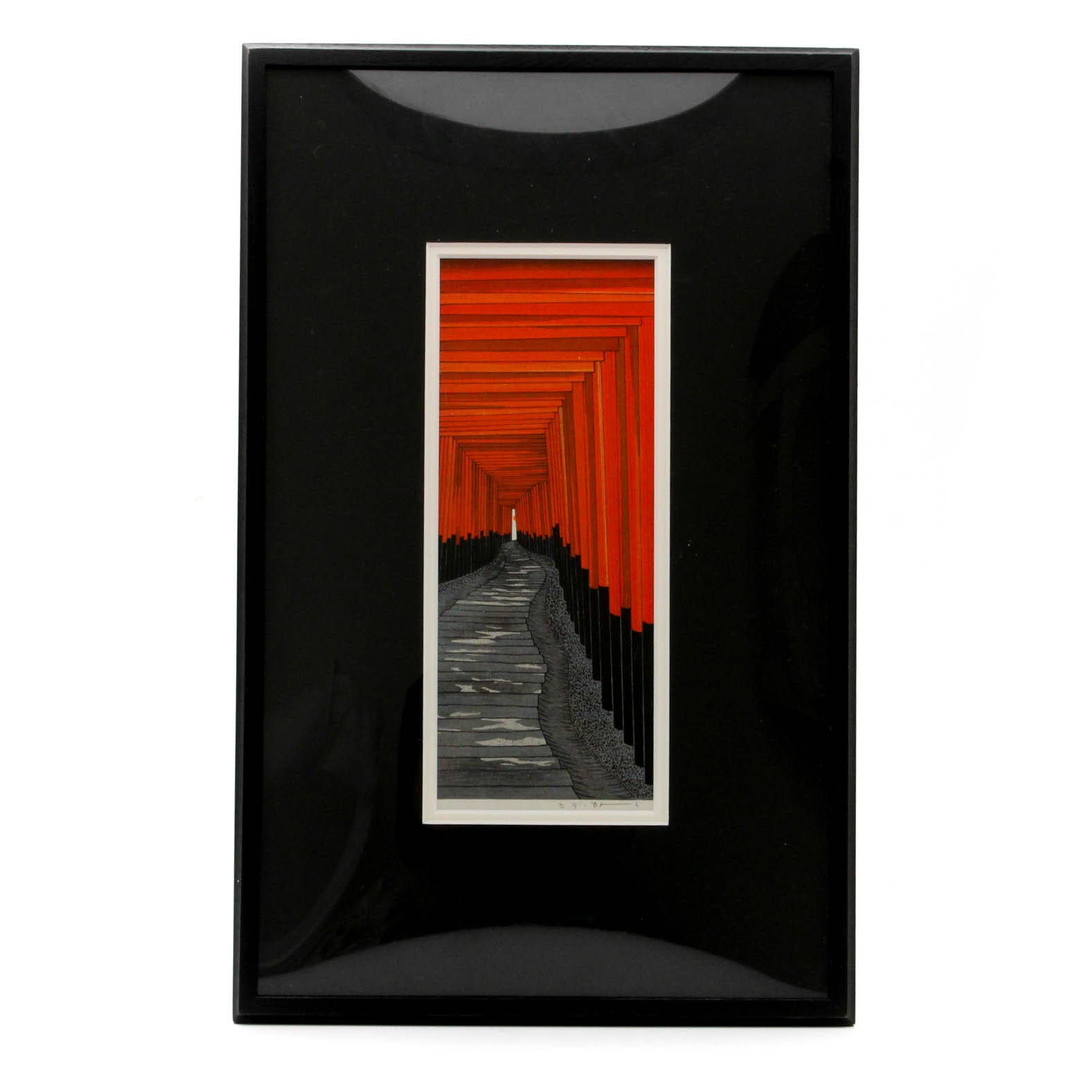 Contemporary Signed Japanese Lithograph