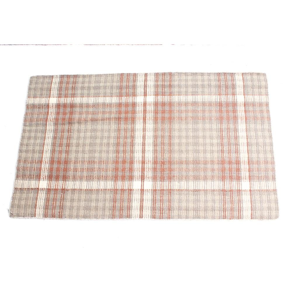 2'7 x 3'4 Handwoven Indian Soumak Rug