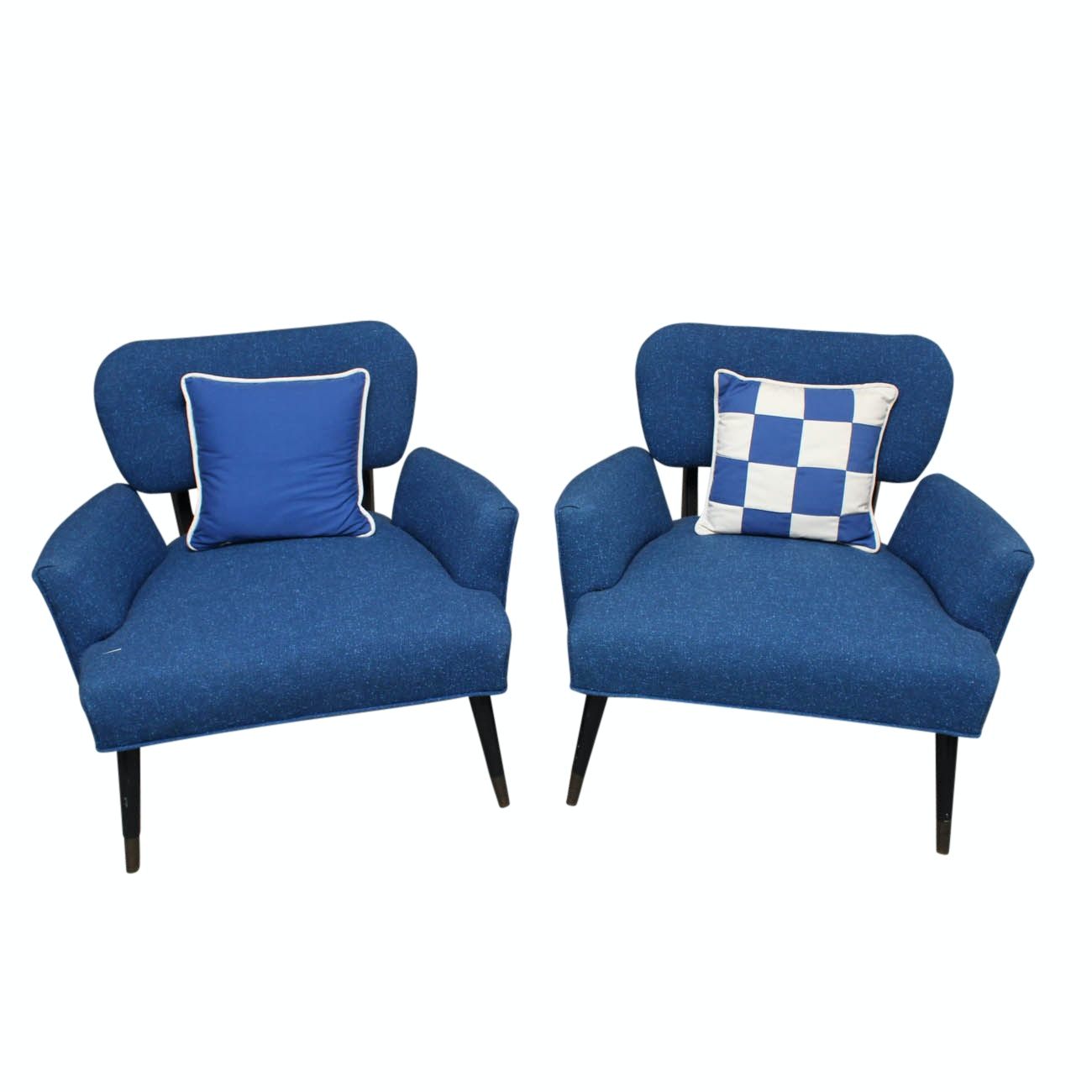 Mid Century Modern Upholstered Chairs