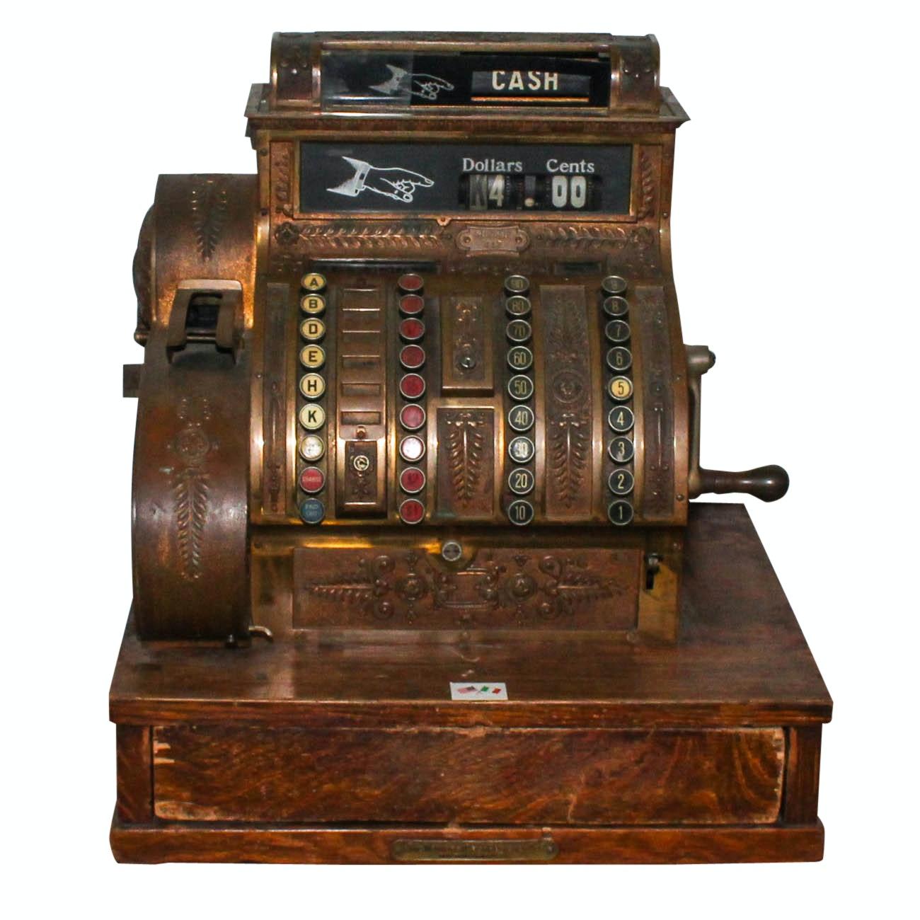 Vintage National Cash Register Model 442
