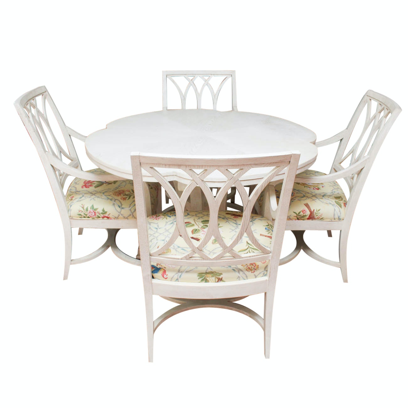 Stanley Furniture Dining Table and Four Chairs