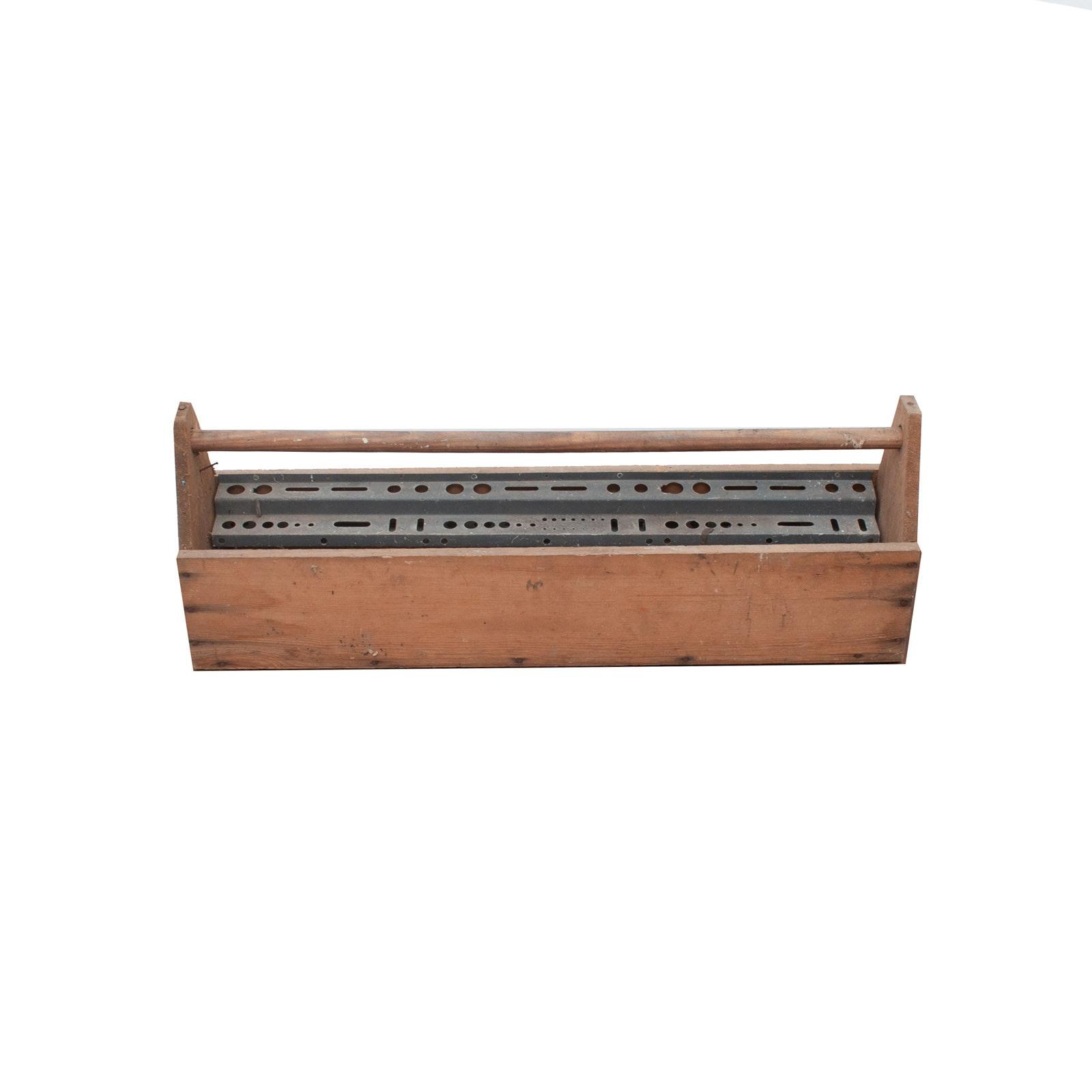 Large Vintage Tool Box