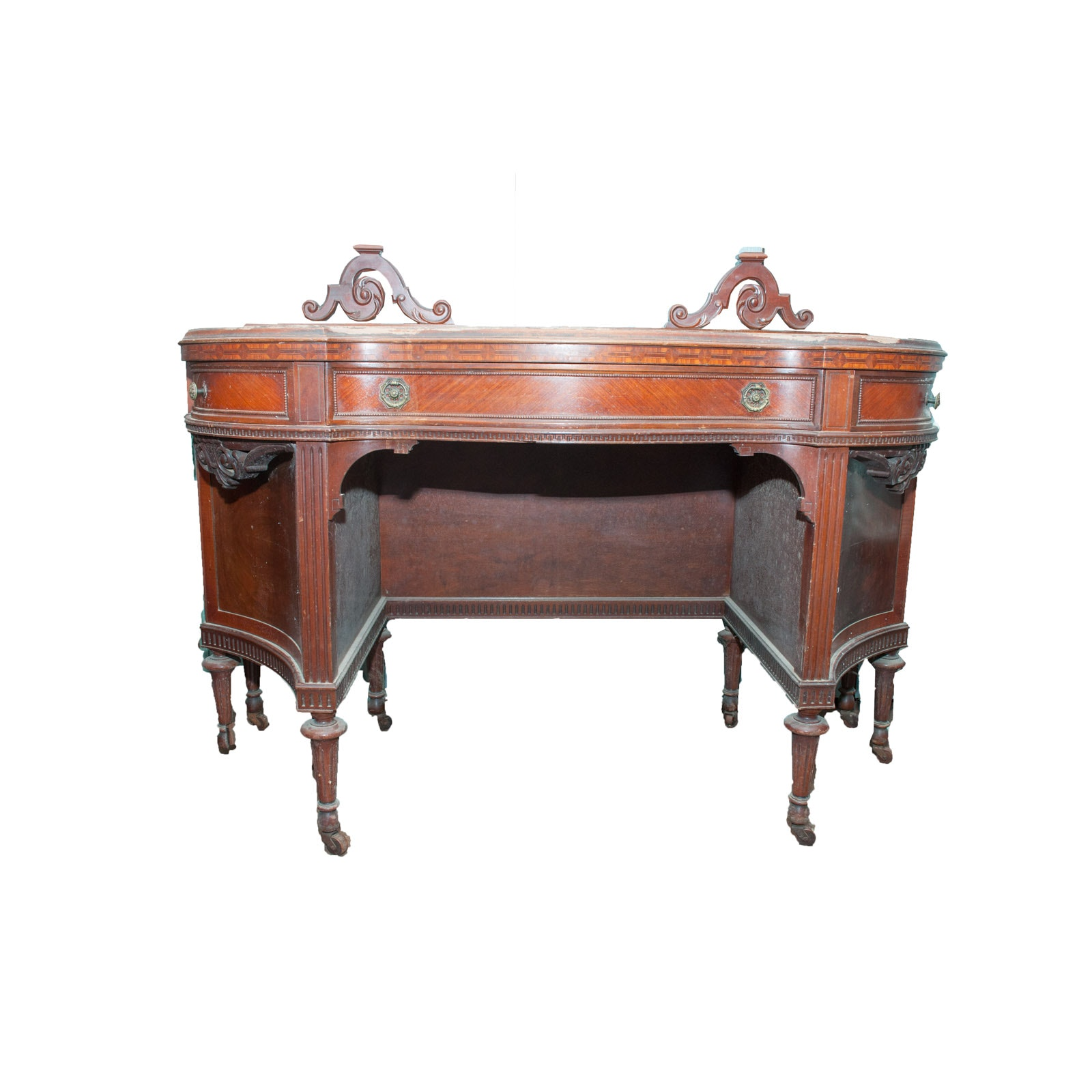 Antique Stille & Duhlmeier Company Project Vanity Table
