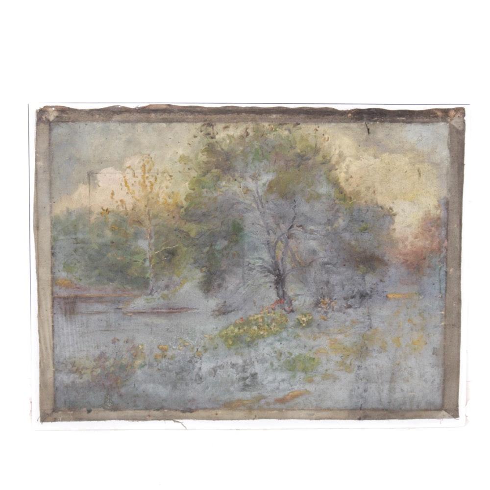 Original Conn Baker Landscape Painting