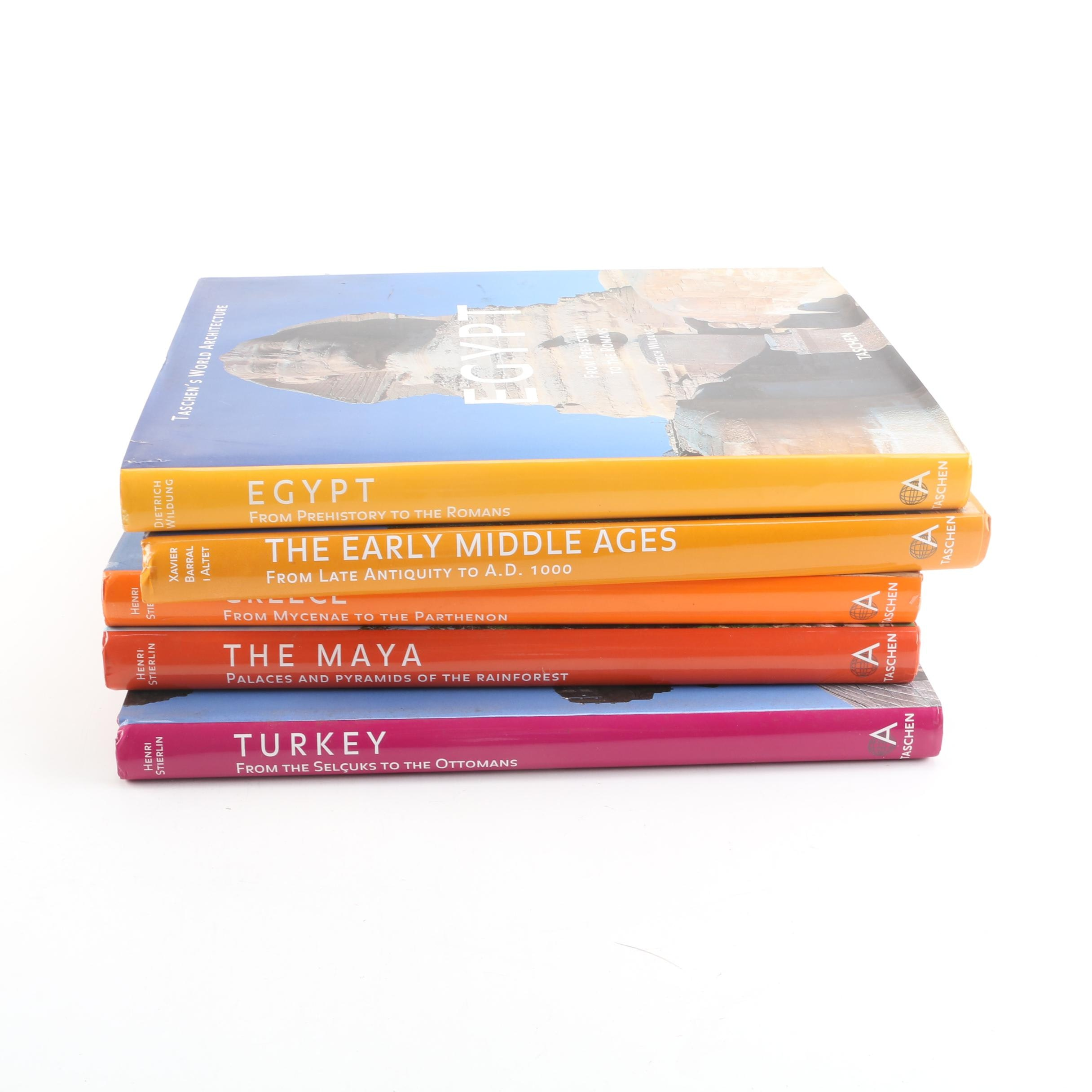 """Taschen's World Architecture Books Including """"The Early Middle Ages"""""""