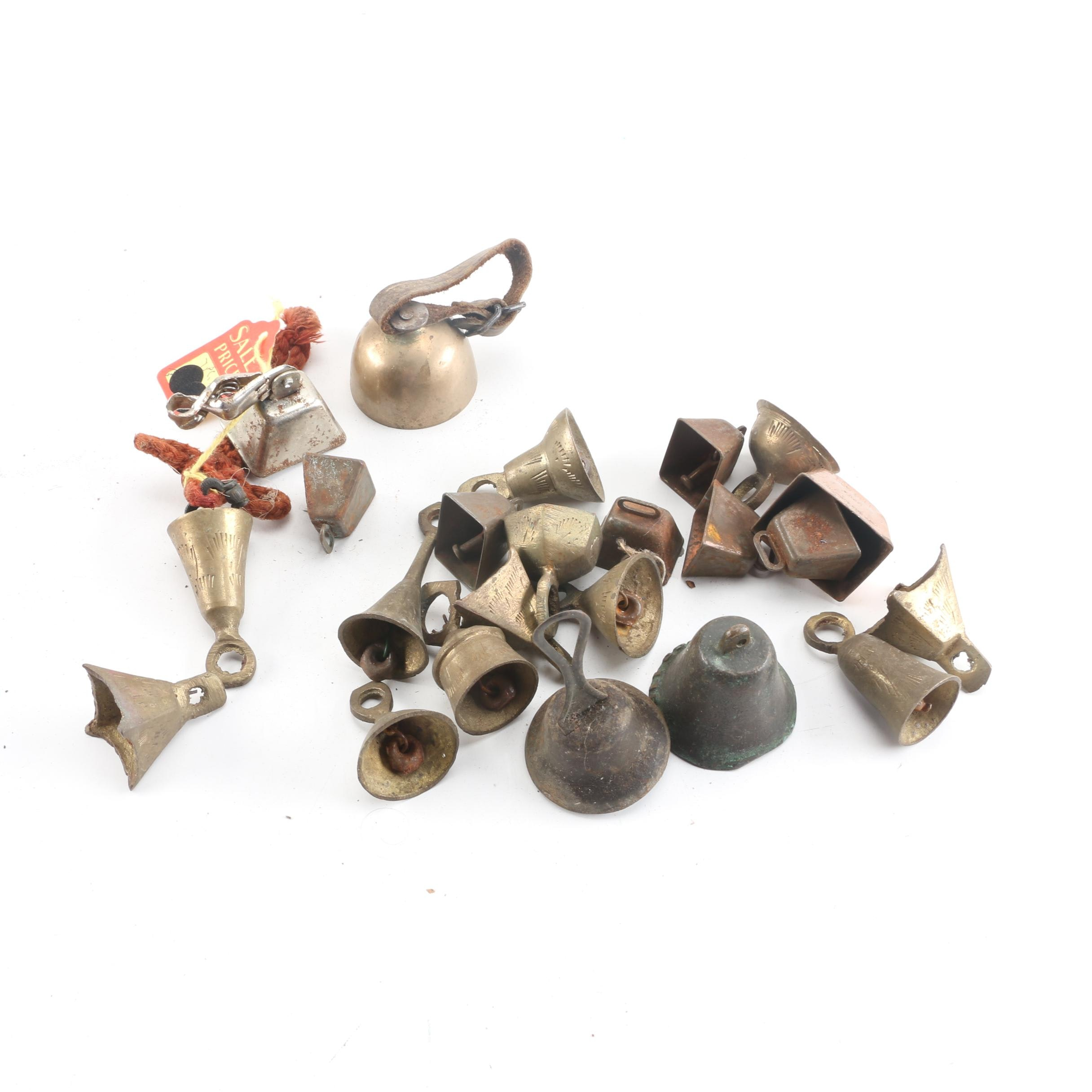 Brass and Copper Bells