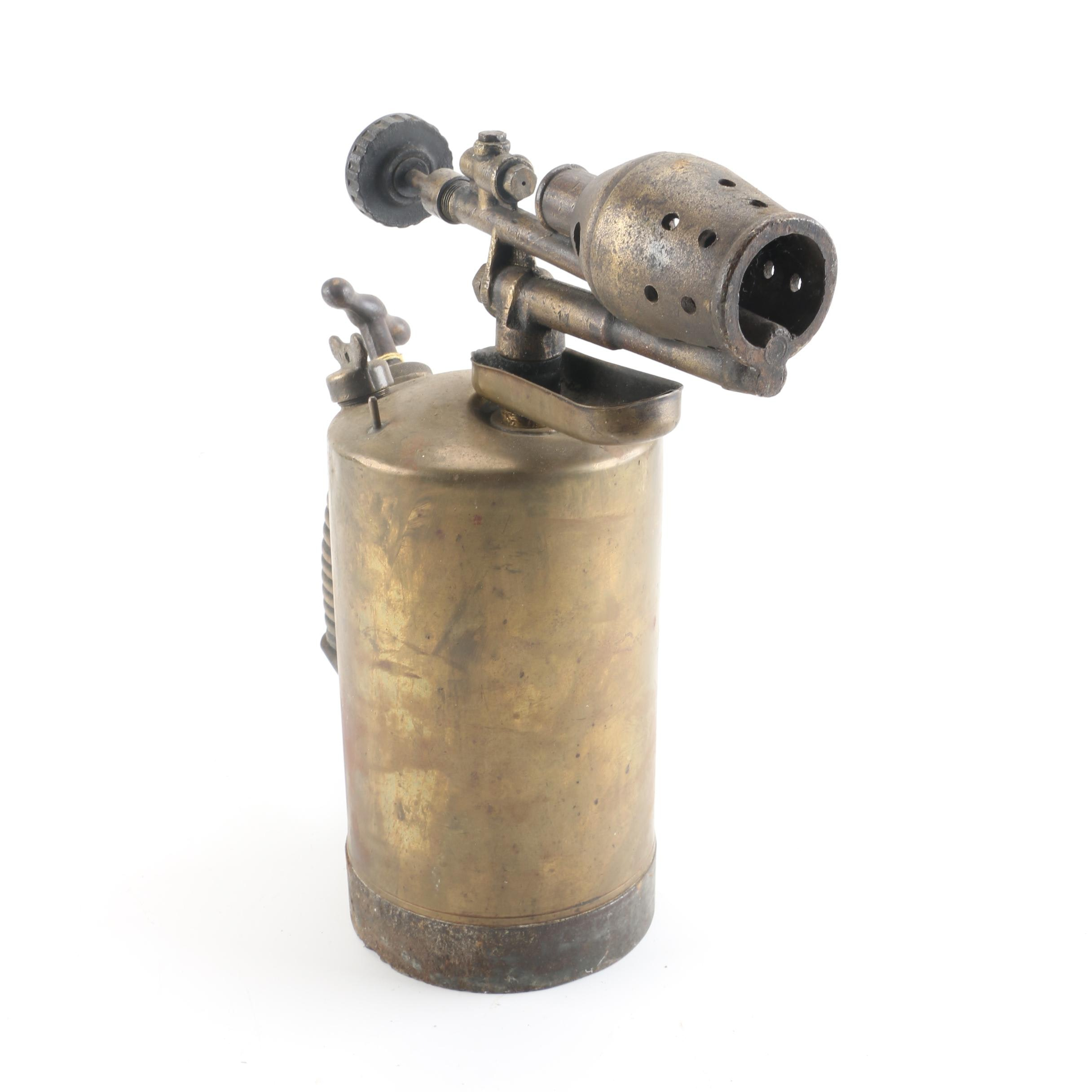 Gustav Barthel Brass Torch