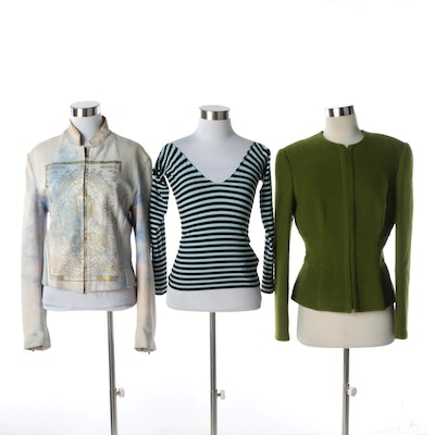 cc0253b6ef Women s Jackets and Sweater Including Giorgio Armani