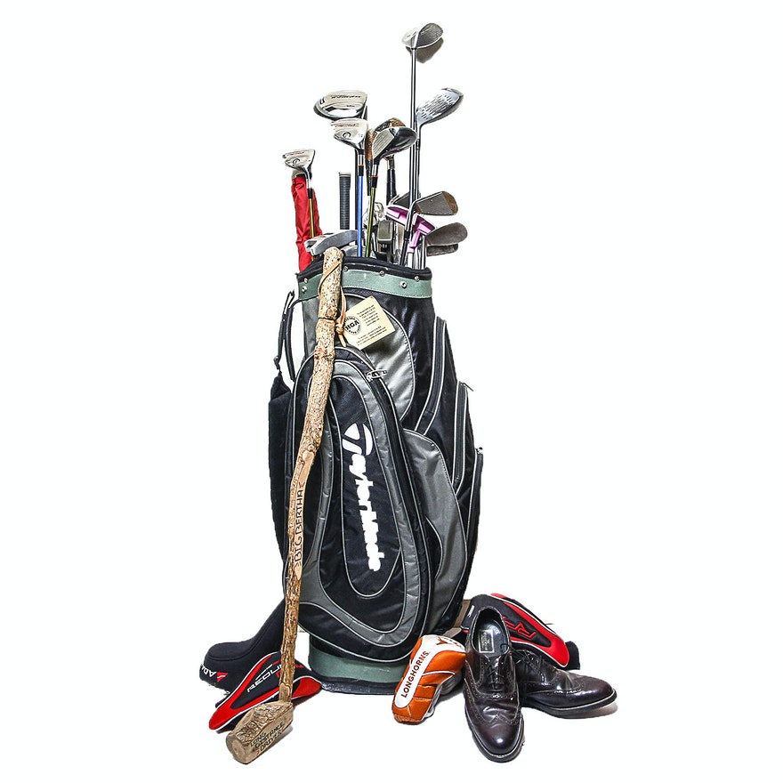 Taylormade Golf Bag Clubs Stuart Mcguire Shoes And Other Accessories
