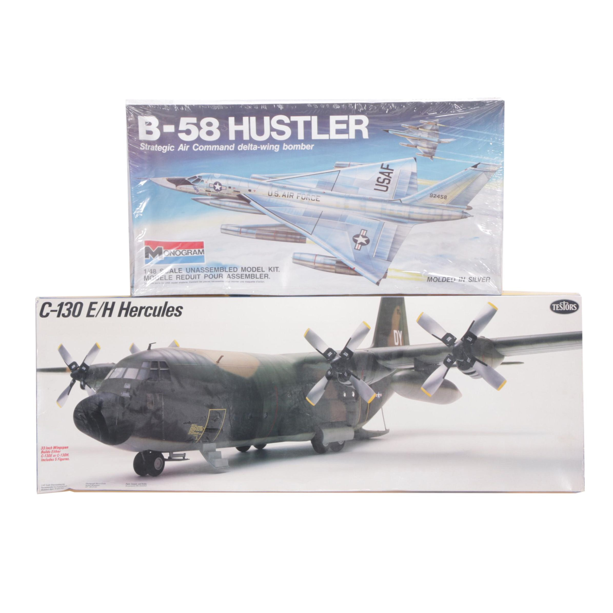 1:48 Scale Military Aircraft Model Kits