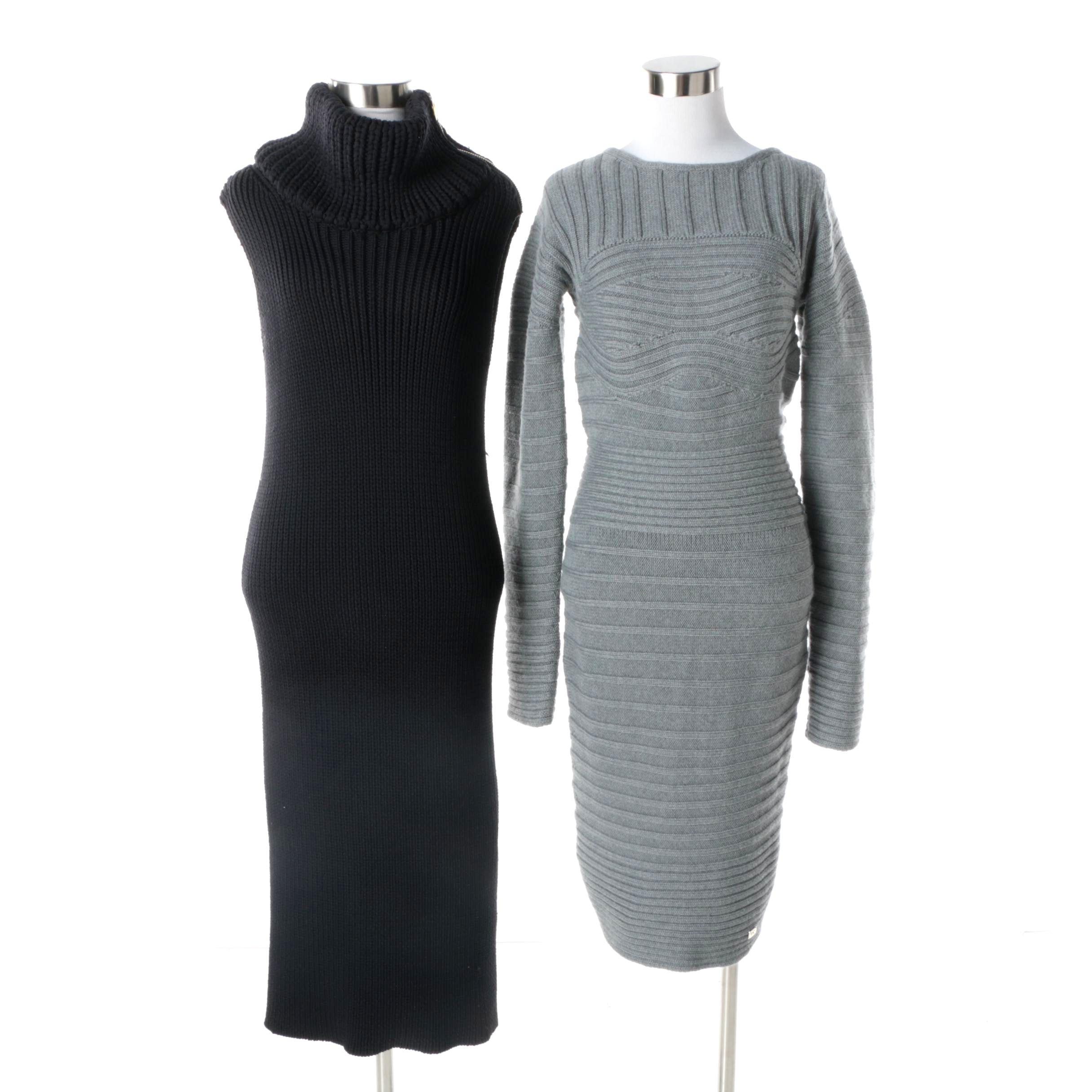 Women's Gianfranco Ferré and Rag & Bone Knit Dresses