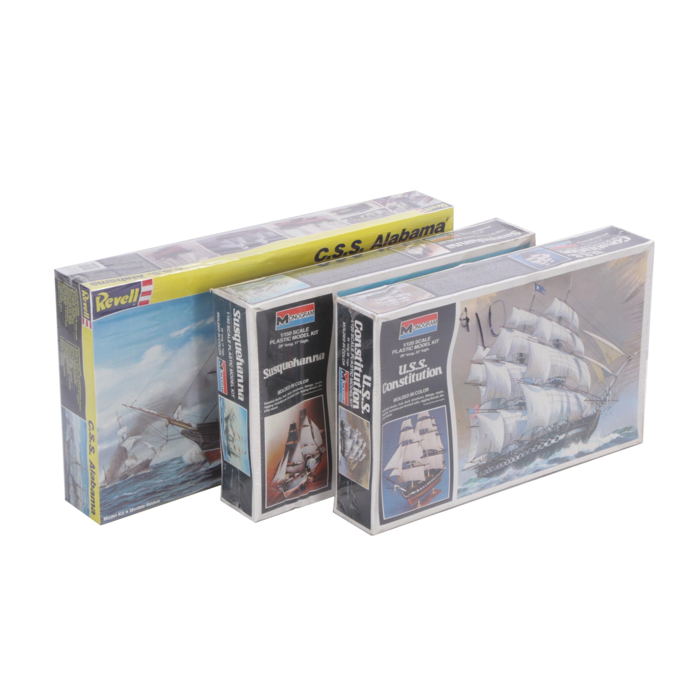 Monogram and Revell Maritime Model Kits