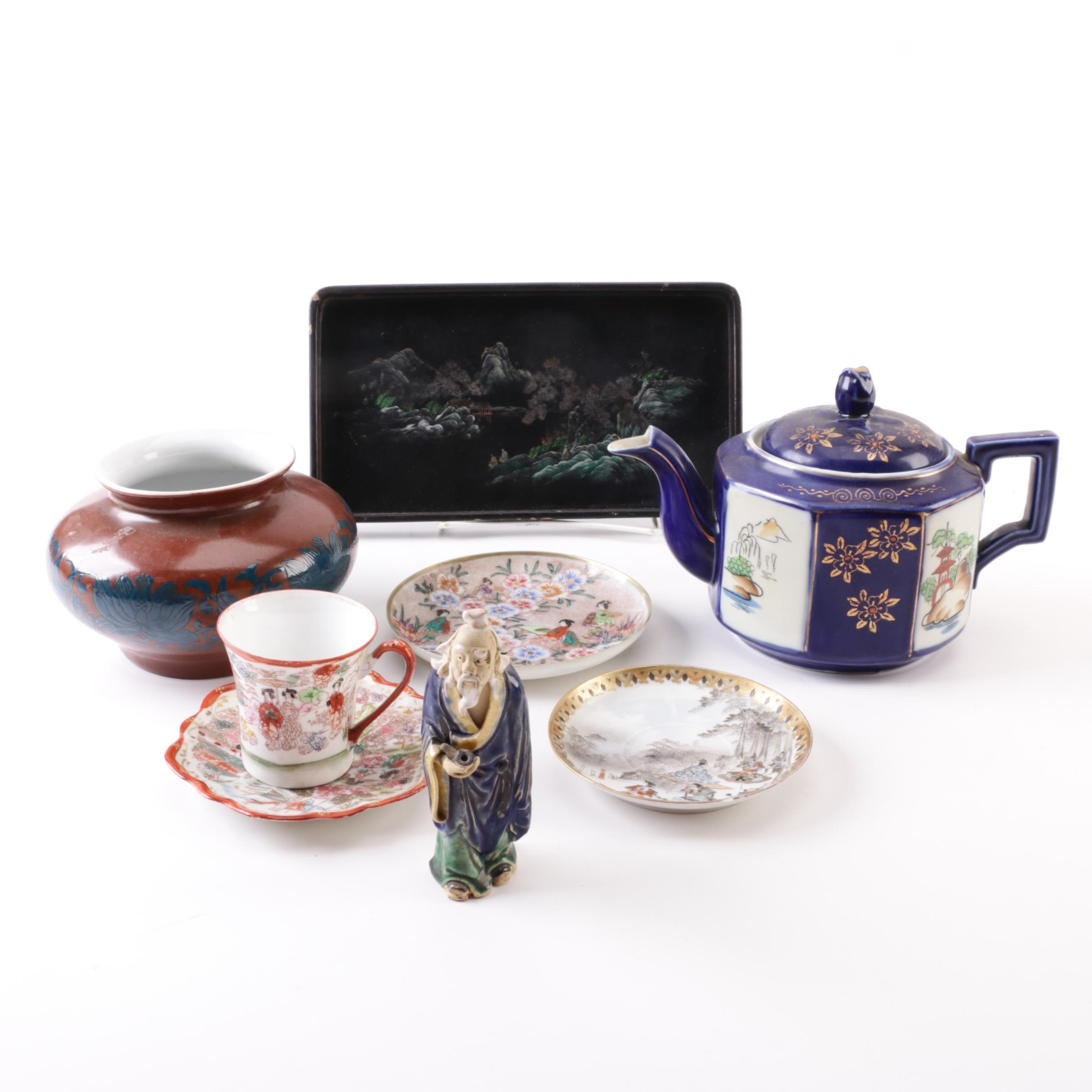 Japanese and Chinese Porcelain and Ceramic Decor