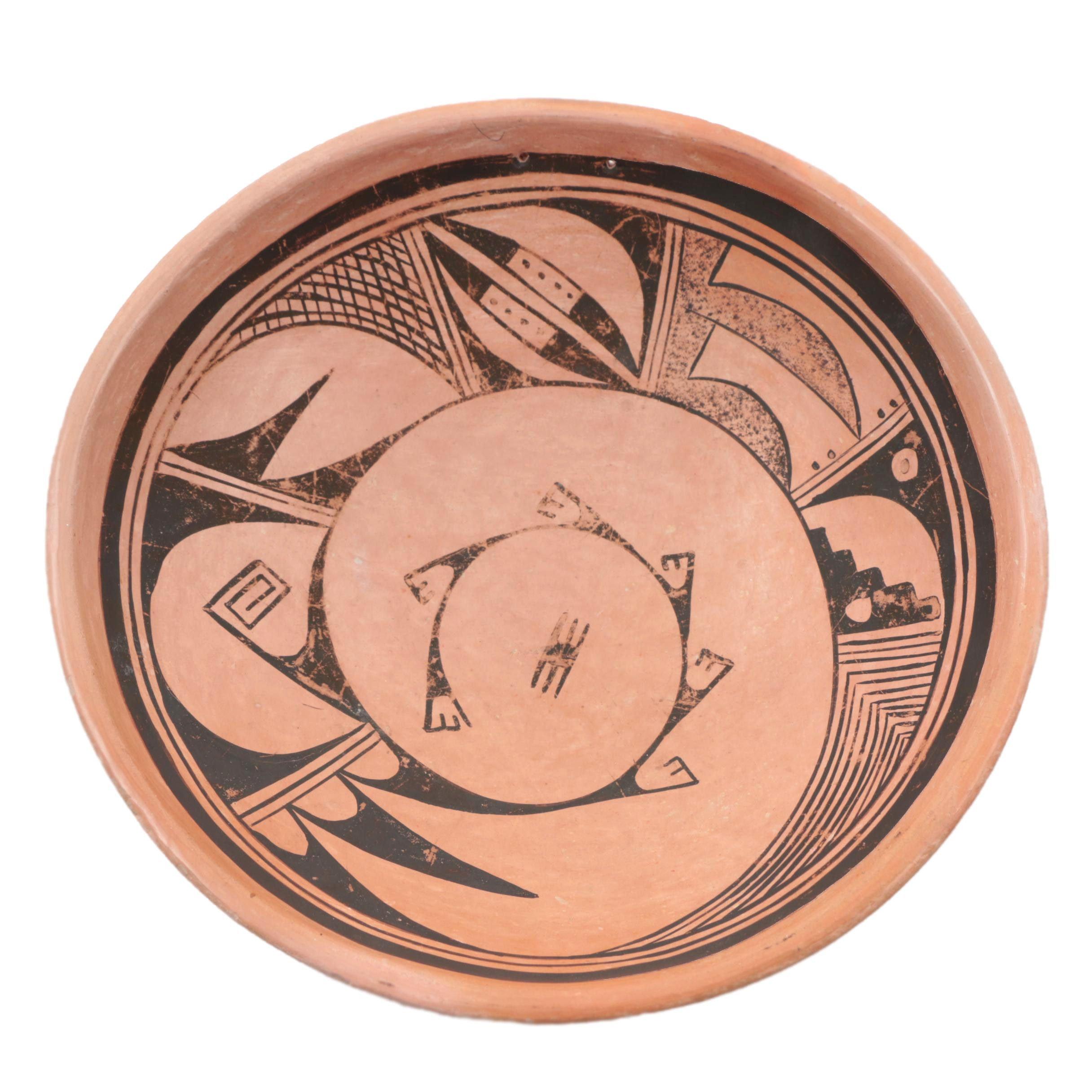 Hopi Earthenware Bowl