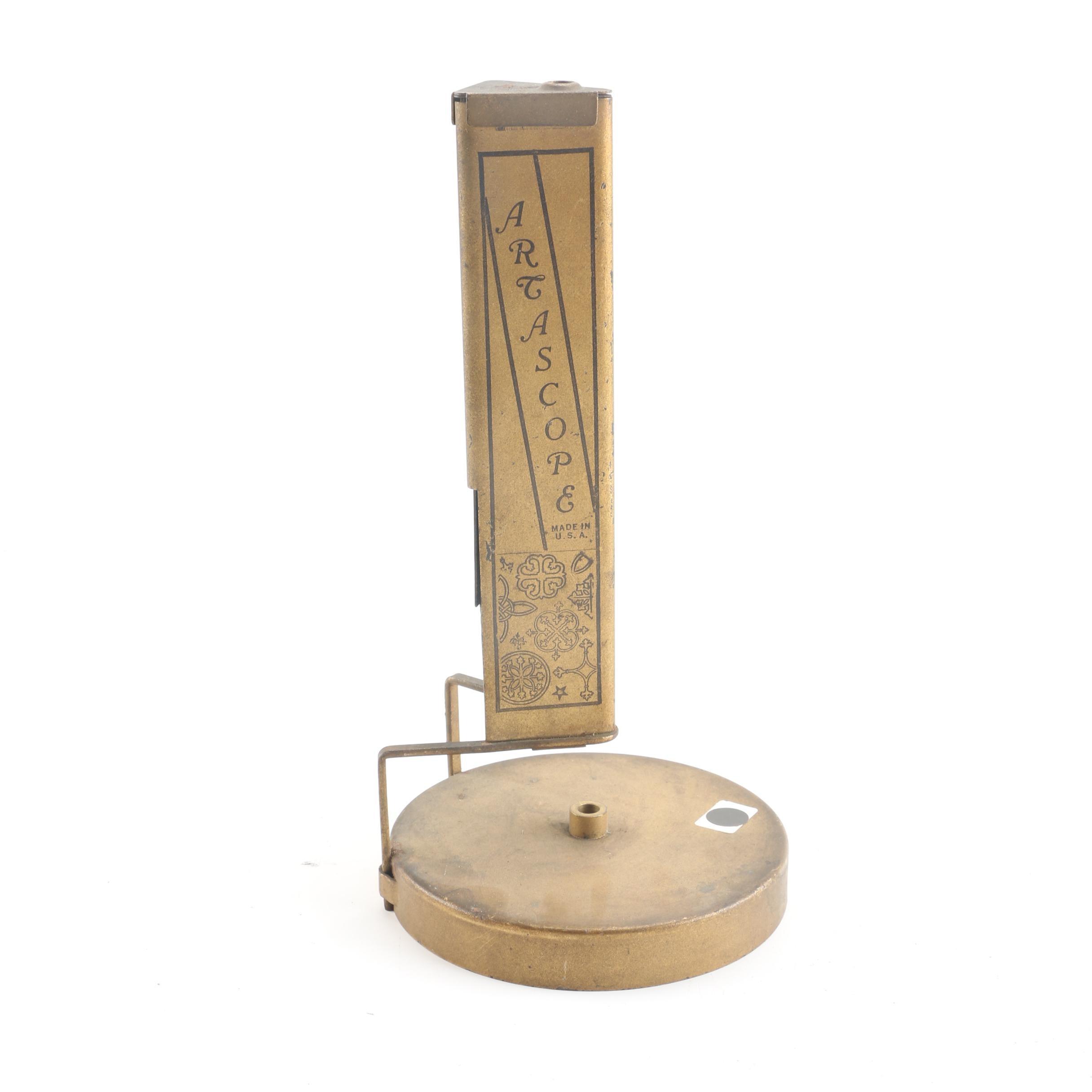 Vintage Artascope Brass Kaleidoscope