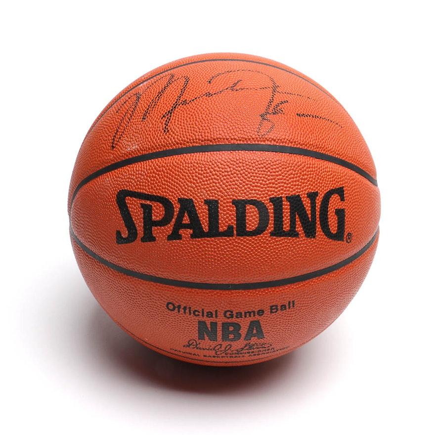 new style 7827f b527c Michael Jordan Autographed Basketball