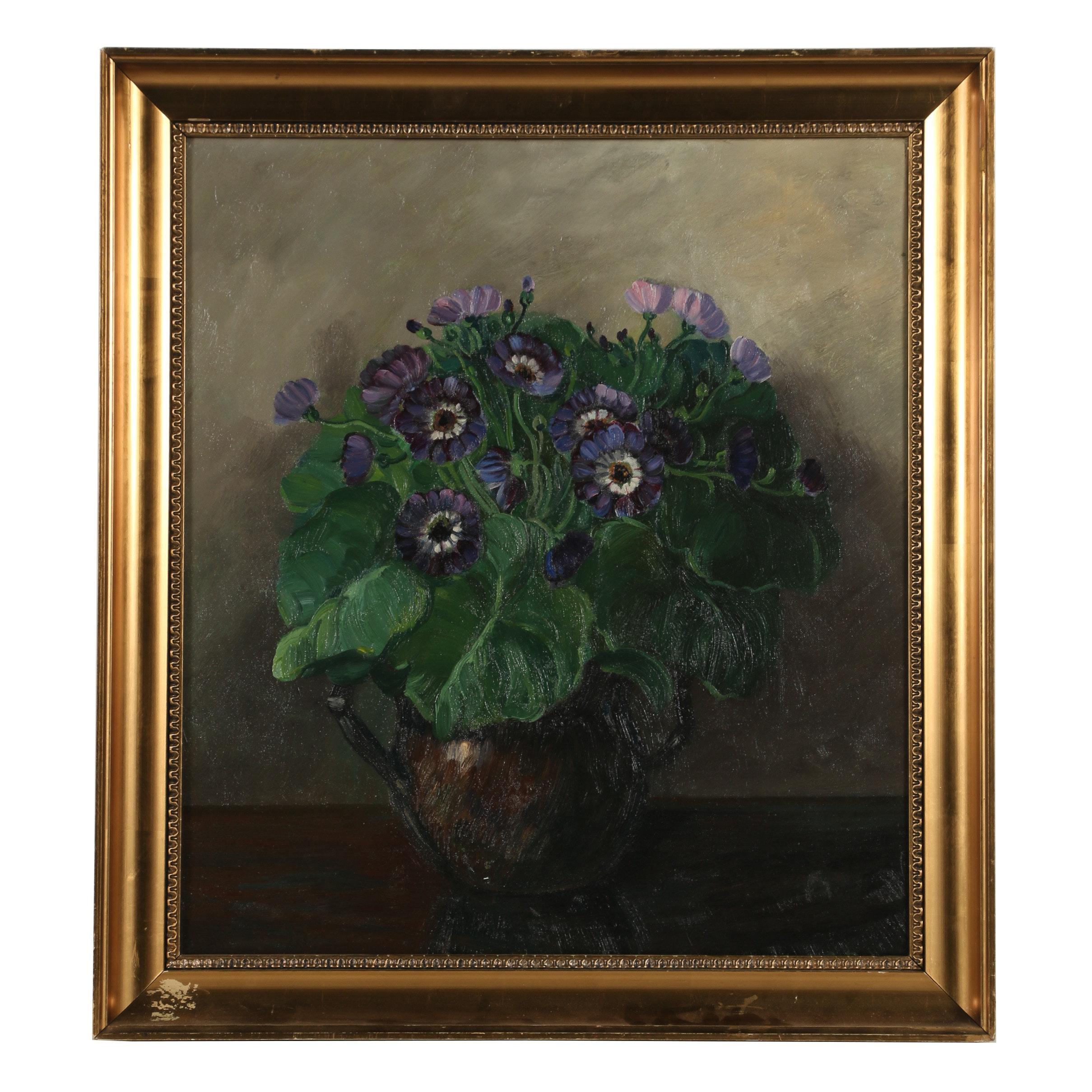 Mid-19th-Century Oil Painting