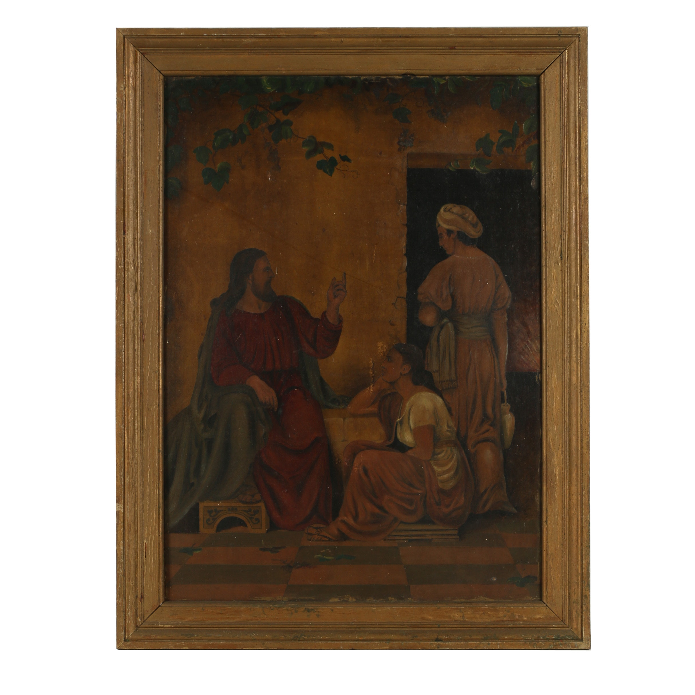 H. C. W. Oil Painting