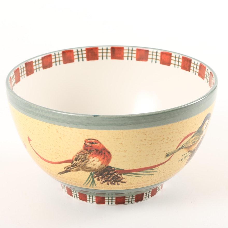 Lenox winter greetings serving bowl ebth lenox winter greetings serving bowl m4hsunfo