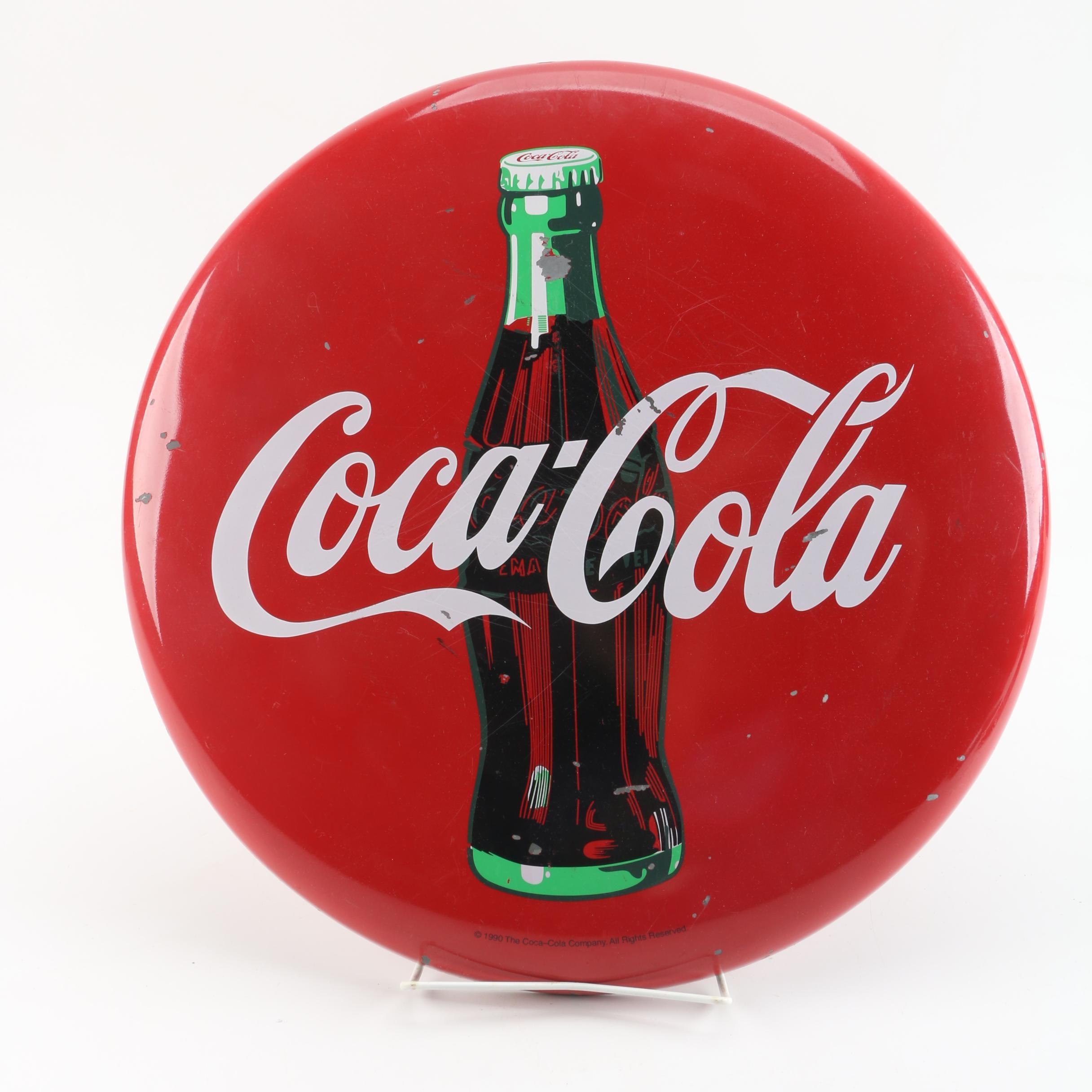 Metal Coca-Cola Sign