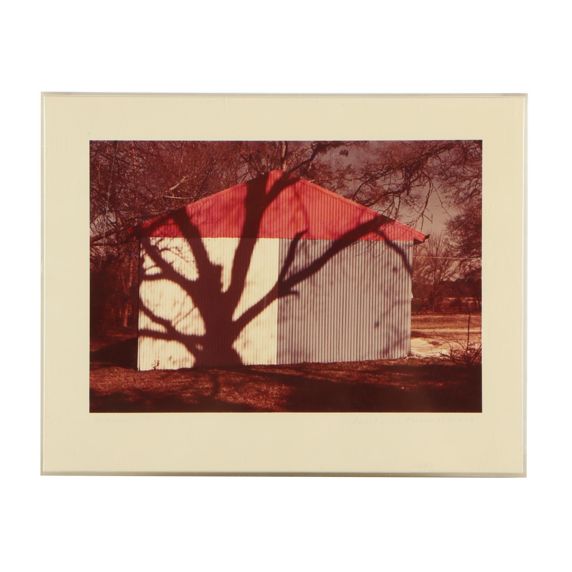 """Linda Renée Fowler-Phelps Vintage Color Photograph """"Huntsville, 1978"""""""
