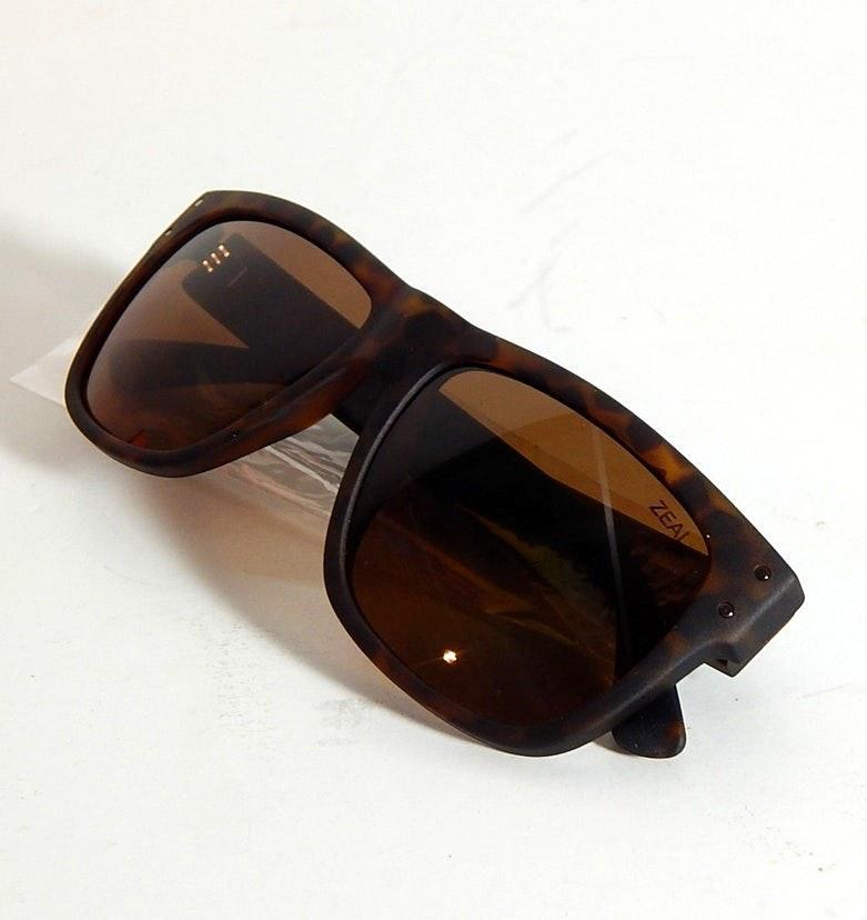 "Zeal ""Captain"" Tortoise Polarized Sunglasses"