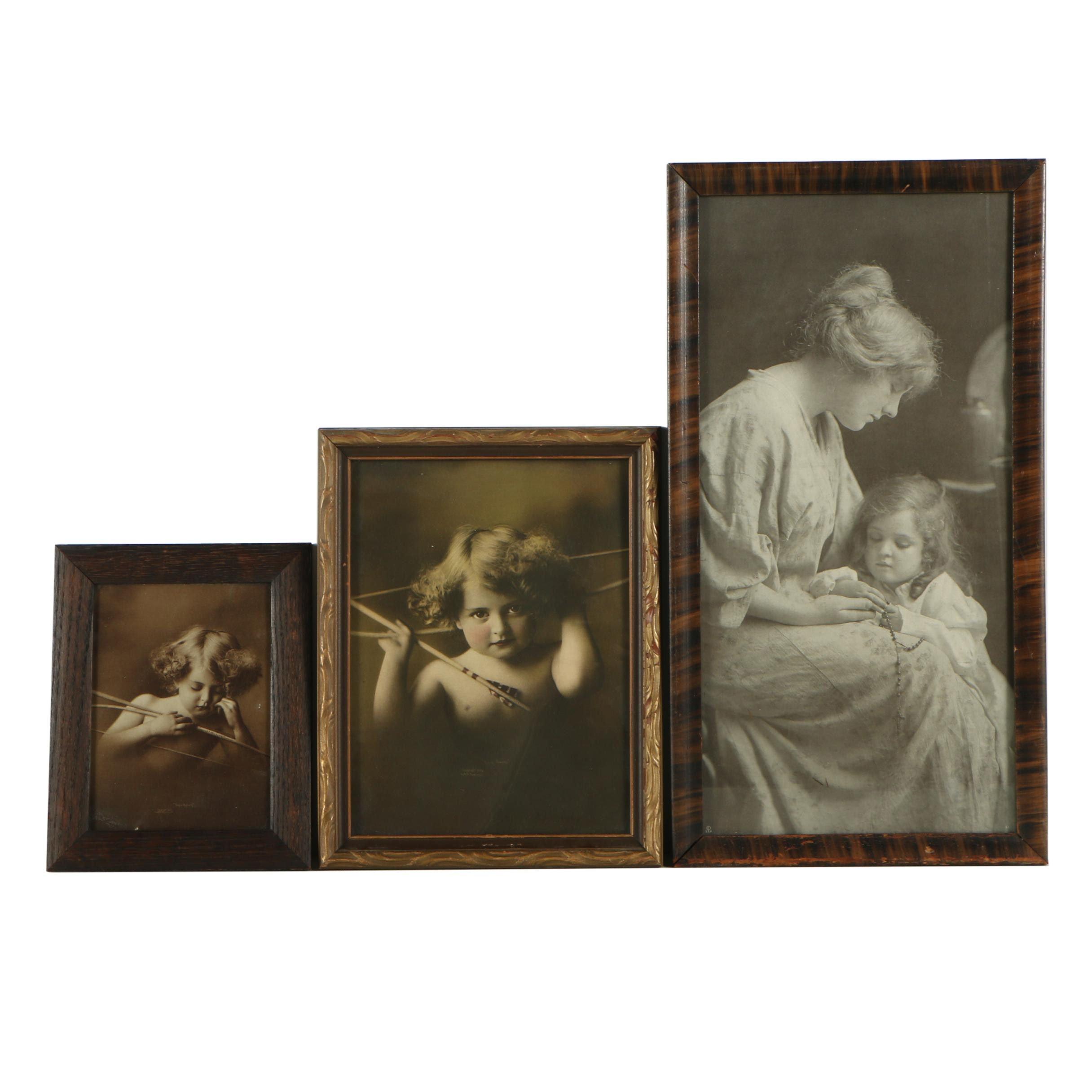 Three Halftone Prints