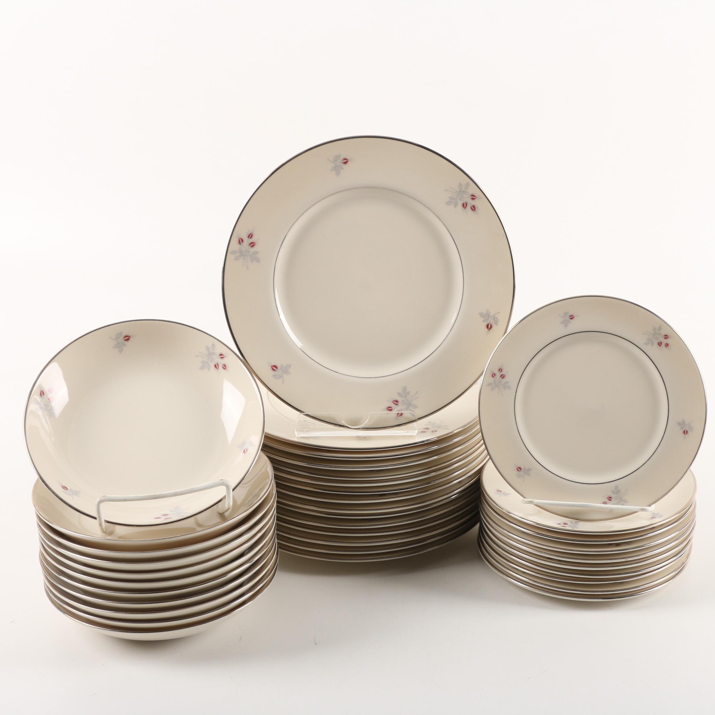 """Vintage Triomphe """"Caress"""" China Dinnerware"""