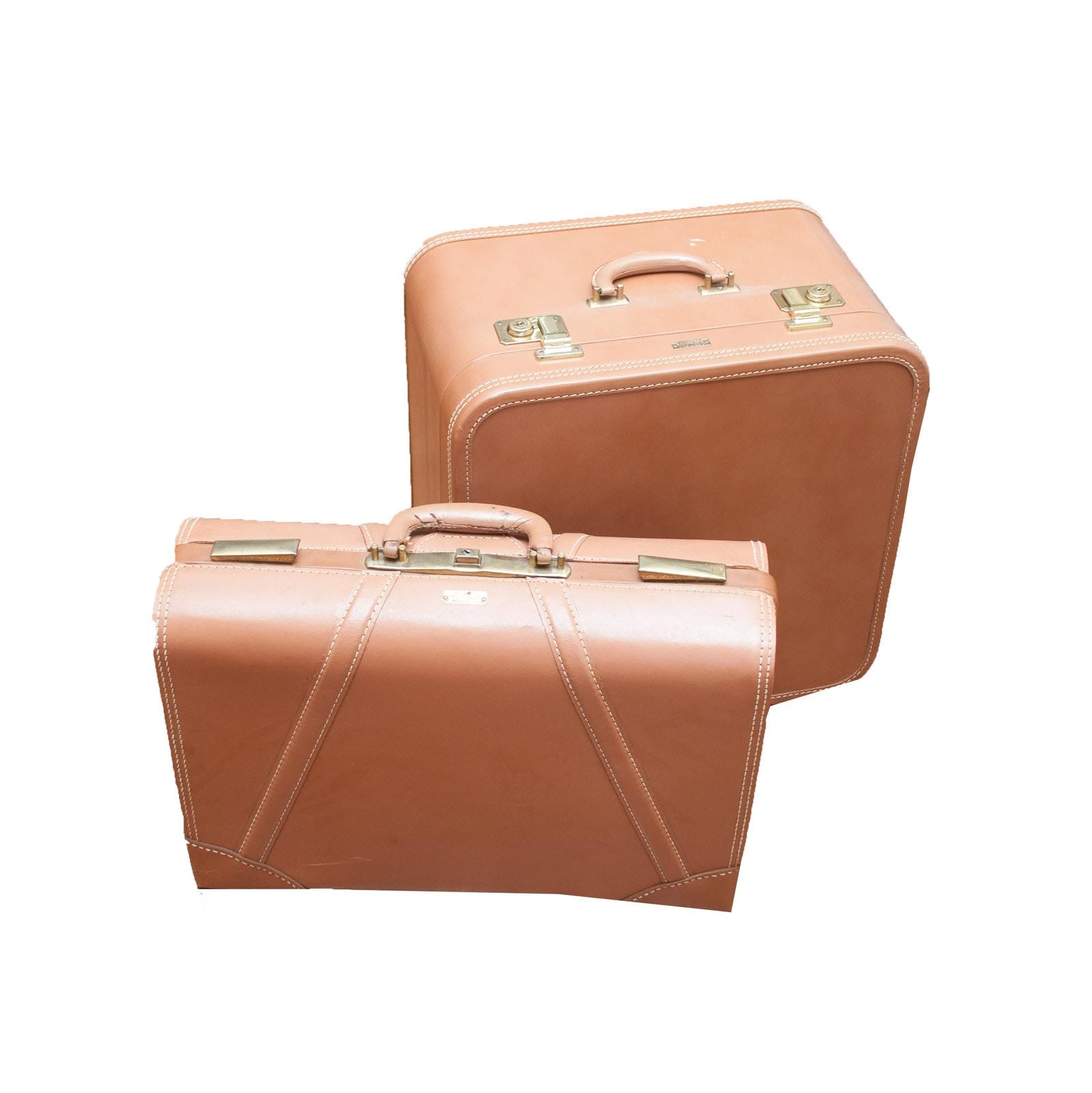 Pair of Aero-Pak Deluxe Modern Luggage