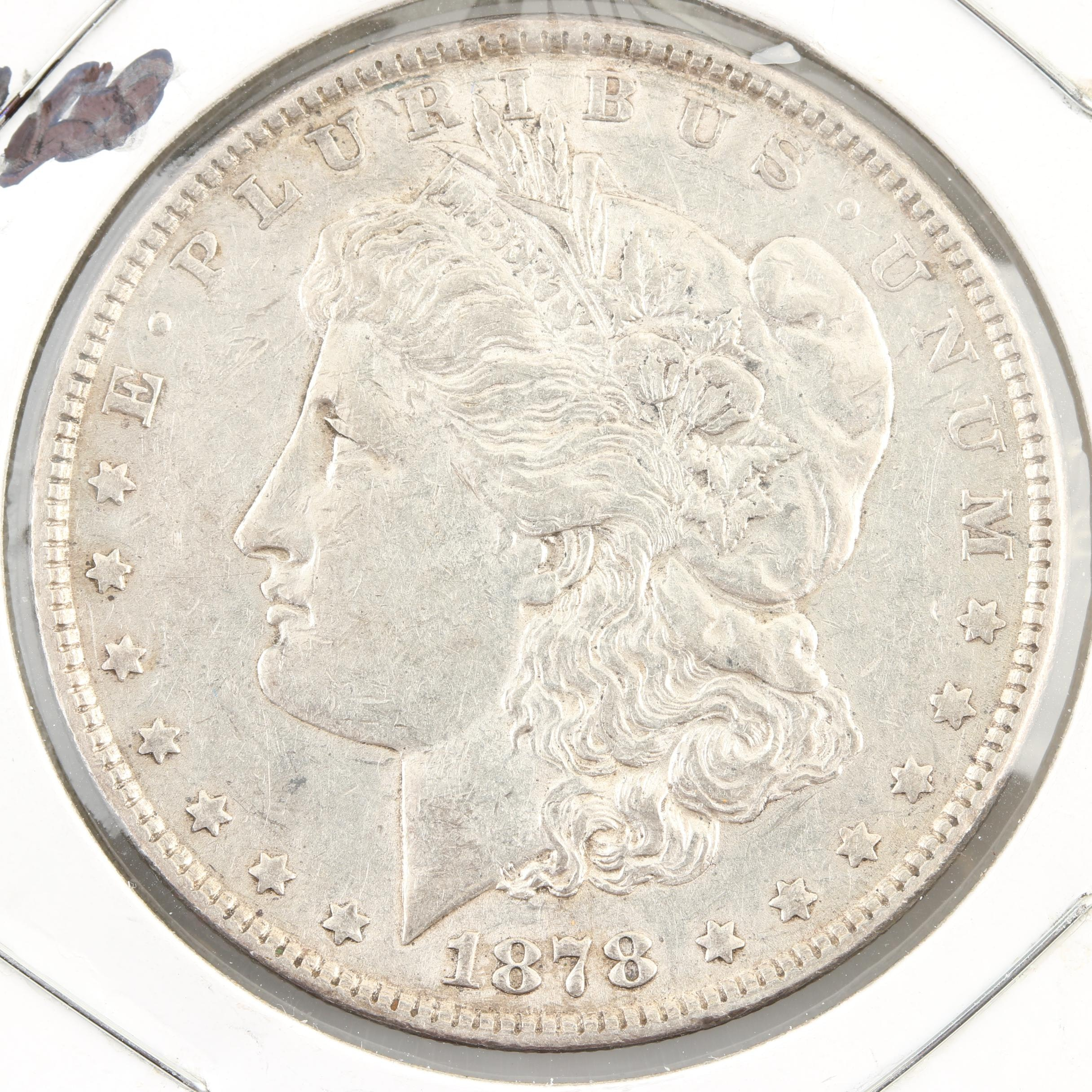 1878 Morgan Silver Dollar, Second Reverse Variety