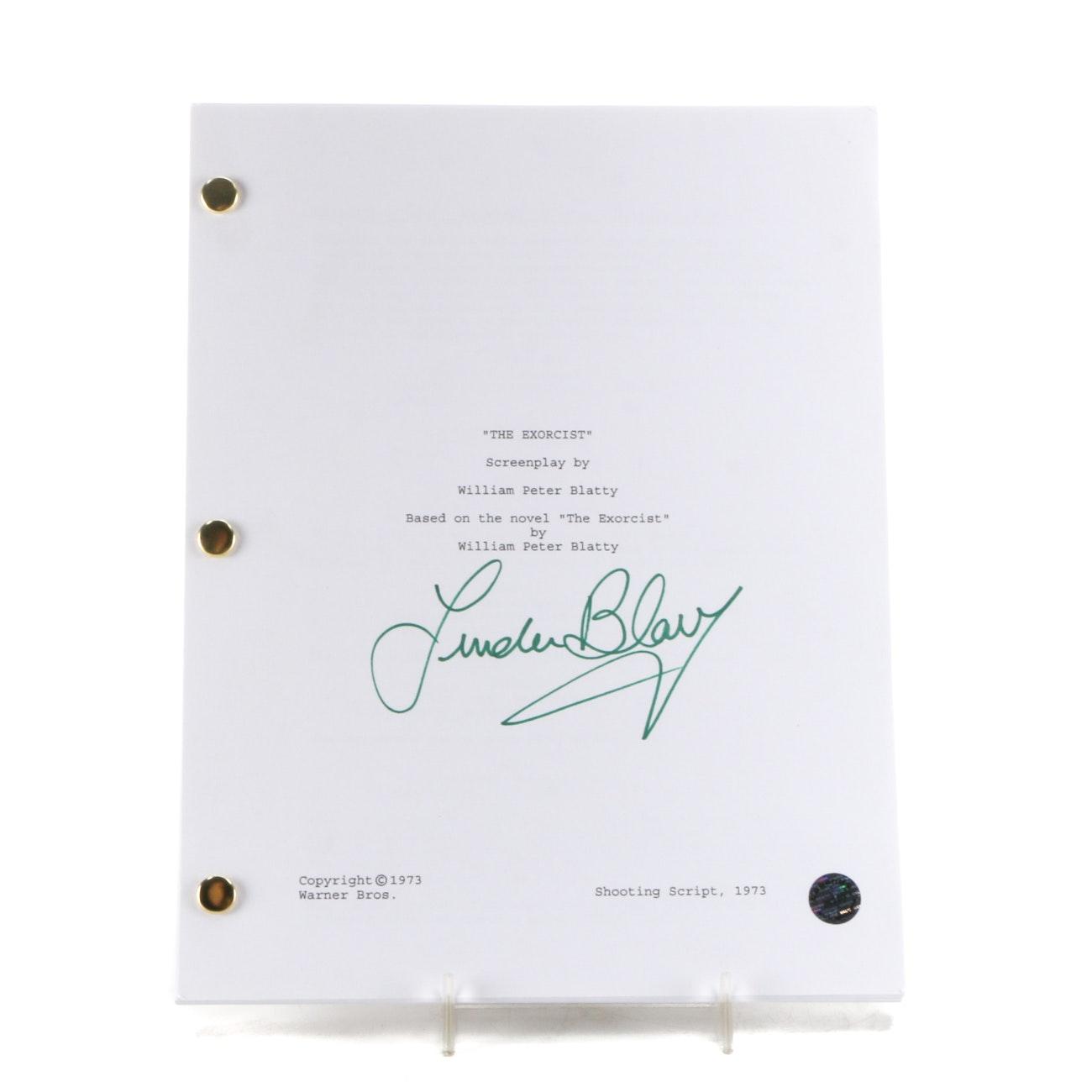 "Linda Blair Signed ""Exorcist"" Script  COA"