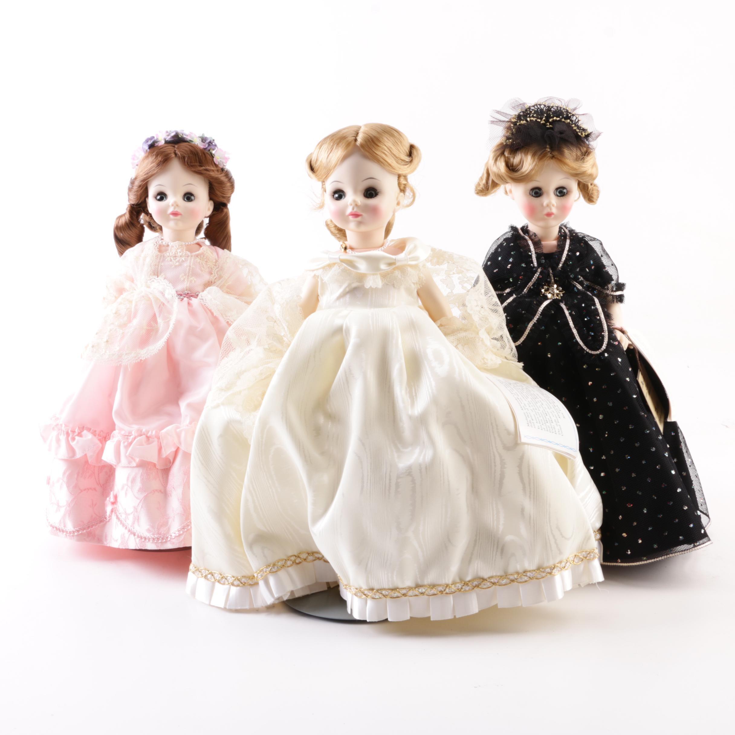 """Vintage Madame Alexander """"First Ladies"""" Series III"""
