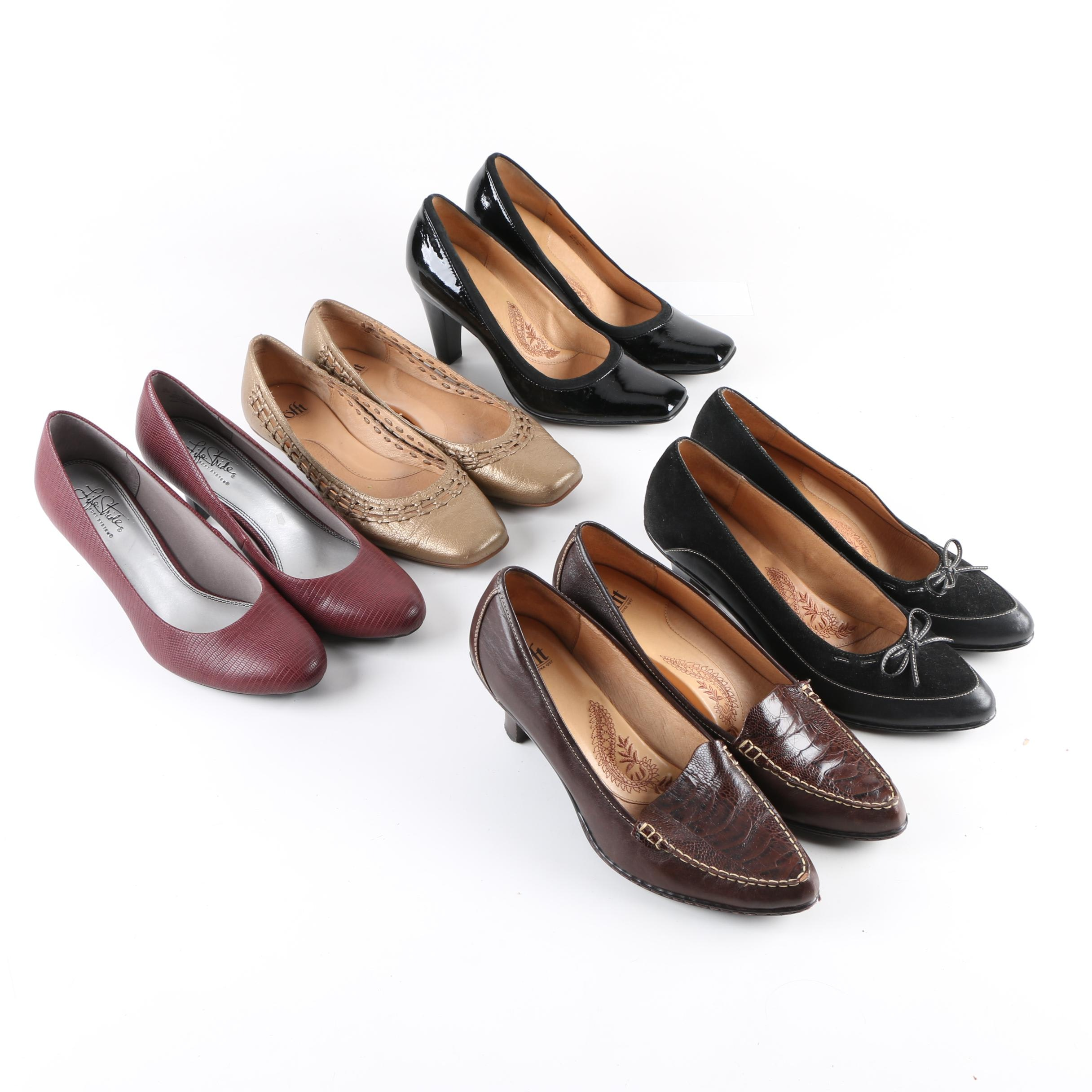 Women's Pumps and Flats Including Söfft and Life Stride
